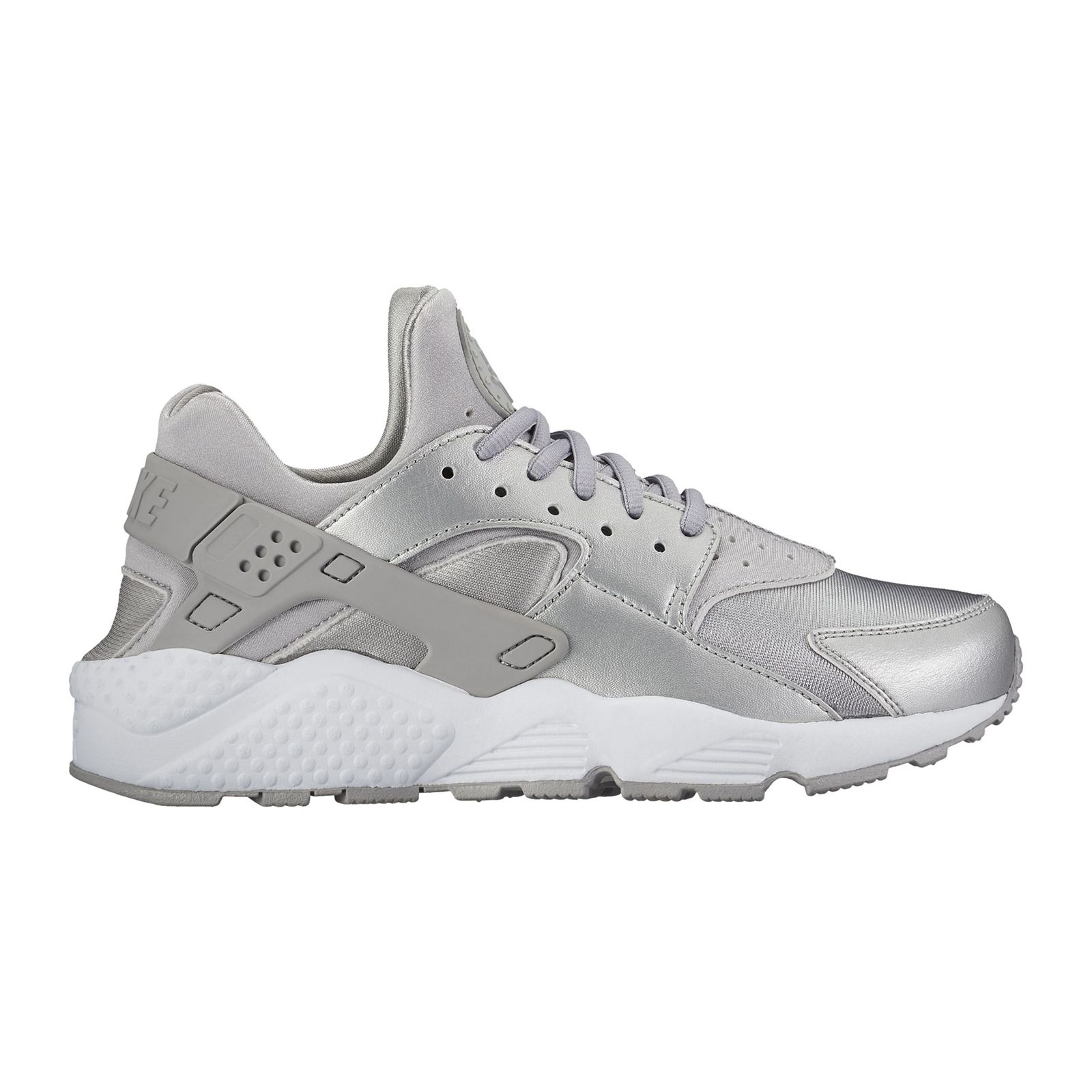 NIKE Air Huarache , Baskets , argent