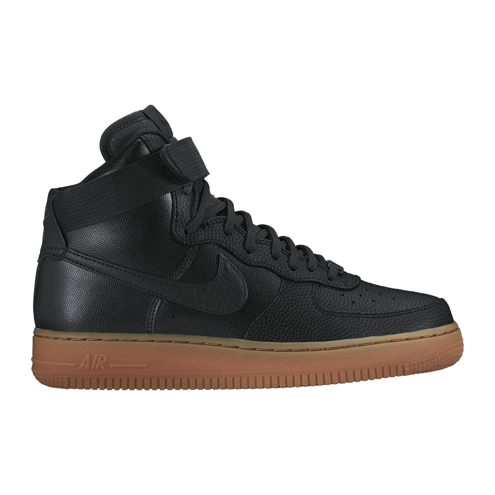 nike air force 1 baskets noir brandalley. Black Bedroom Furniture Sets. Home Design Ideas