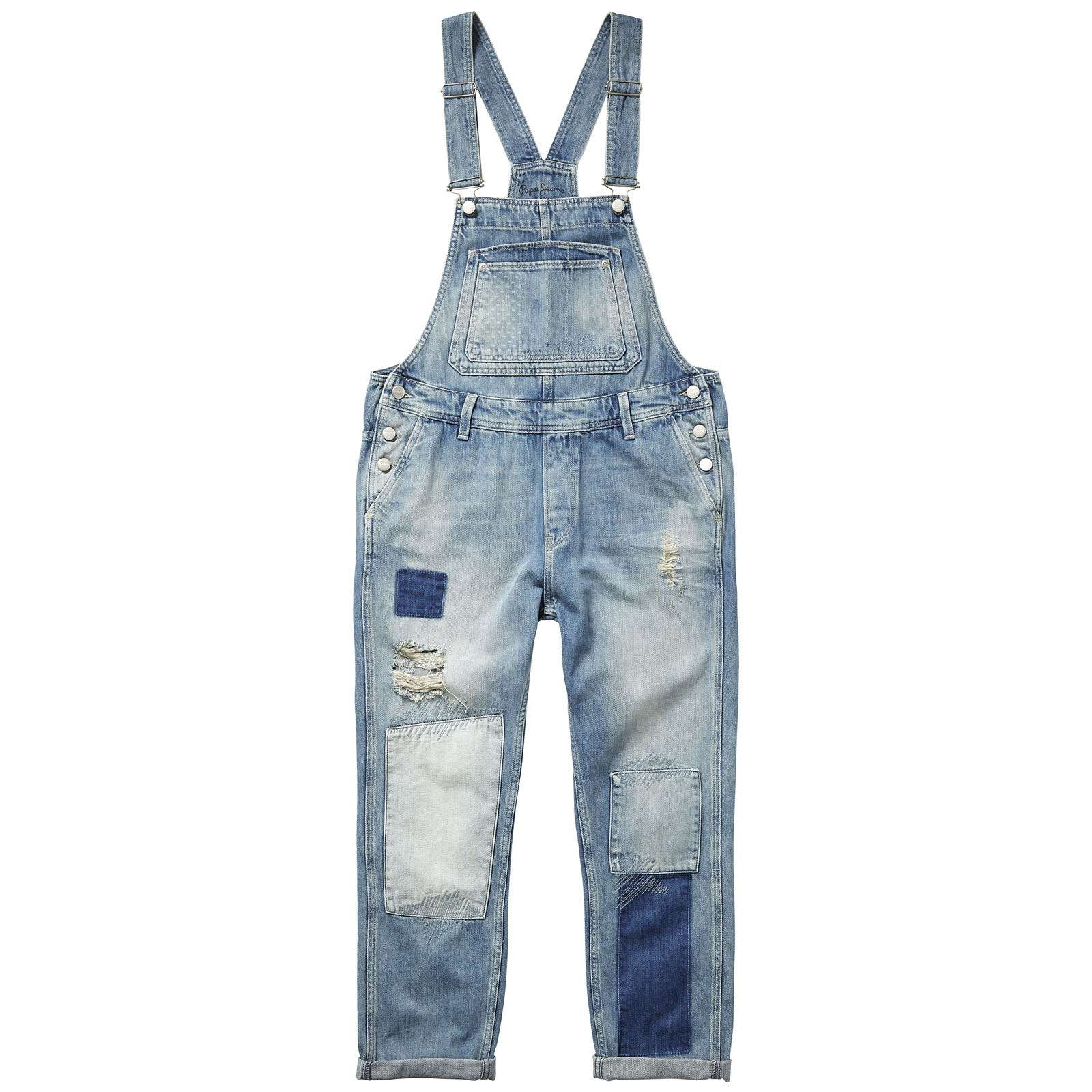 Pepe Jeans London Billie - Salopette - denim bleu