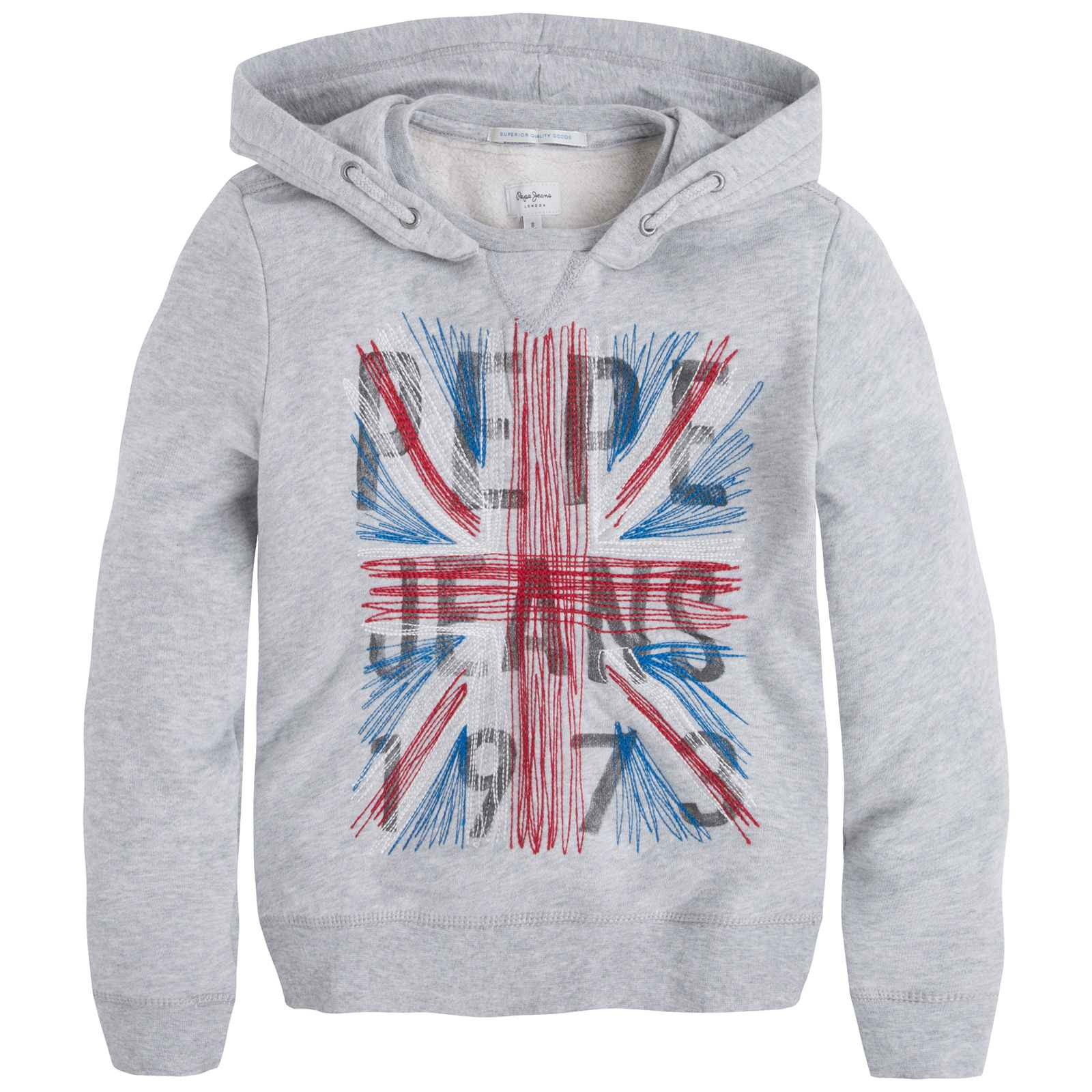 Pepe Jeans London Silvester - Sweat à capuche - gris chine