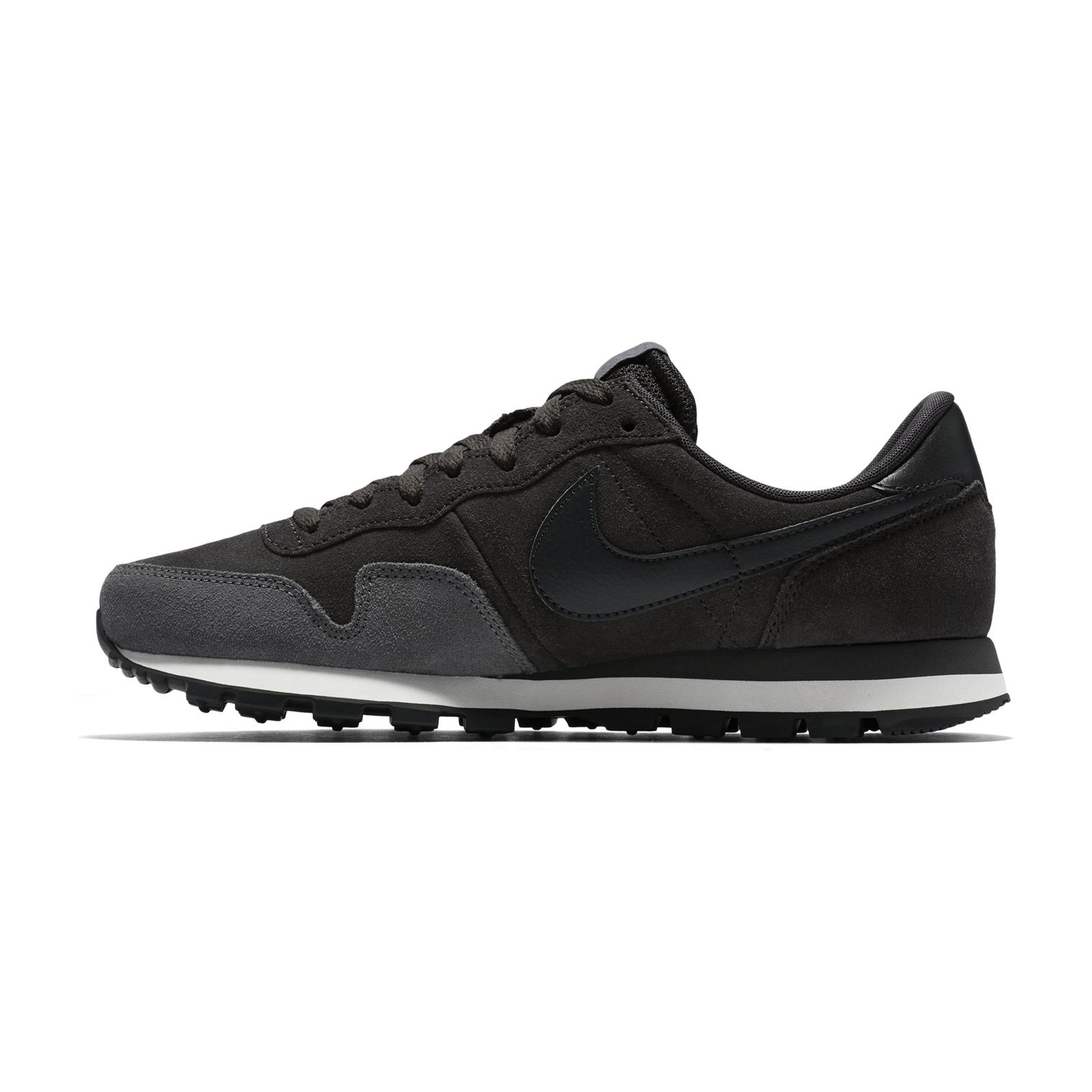 NIKE Air Pegasus 83 - Baskets en cuir - etain