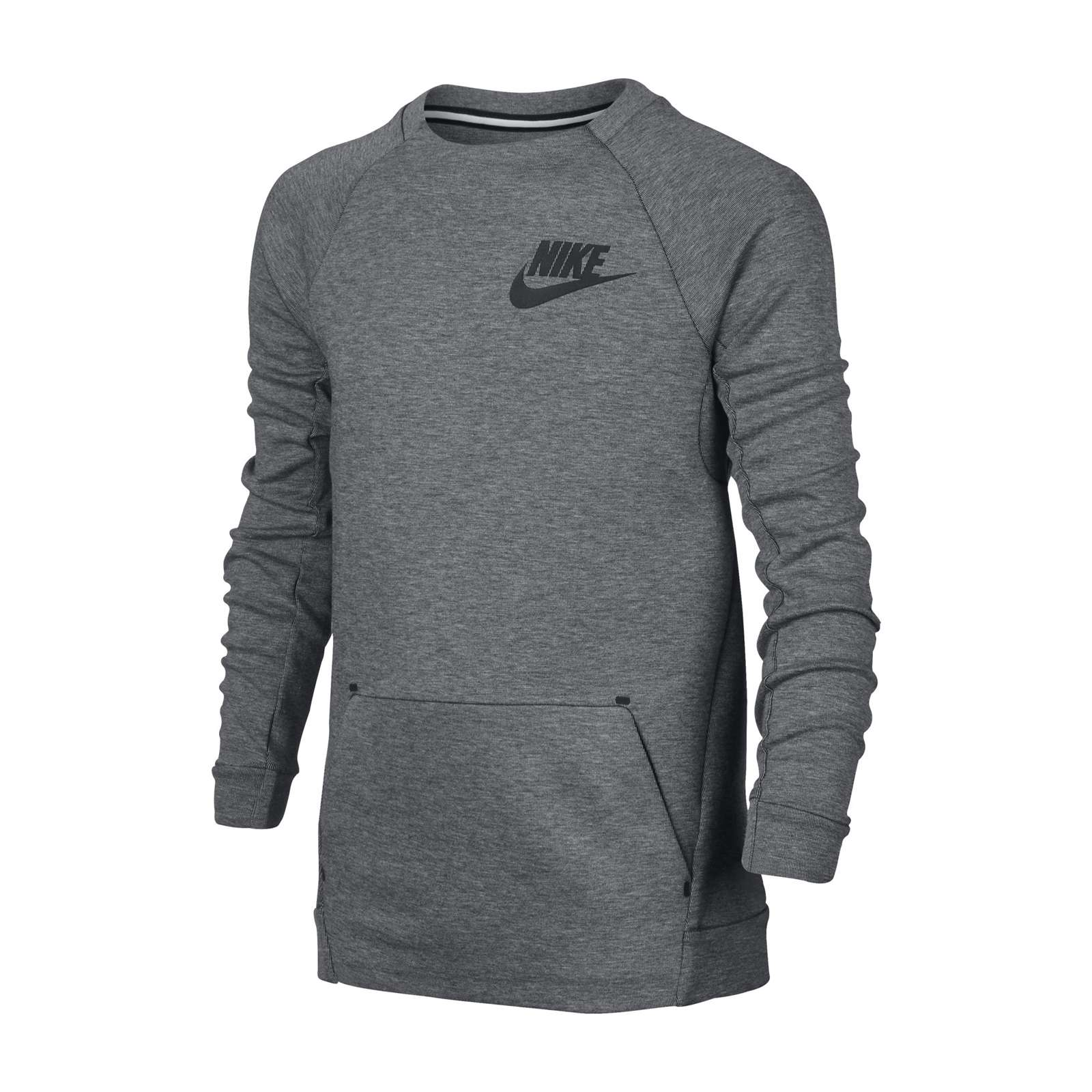 nike sweat shirt gris brandalley. Black Bedroom Furniture Sets. Home Design Ideas