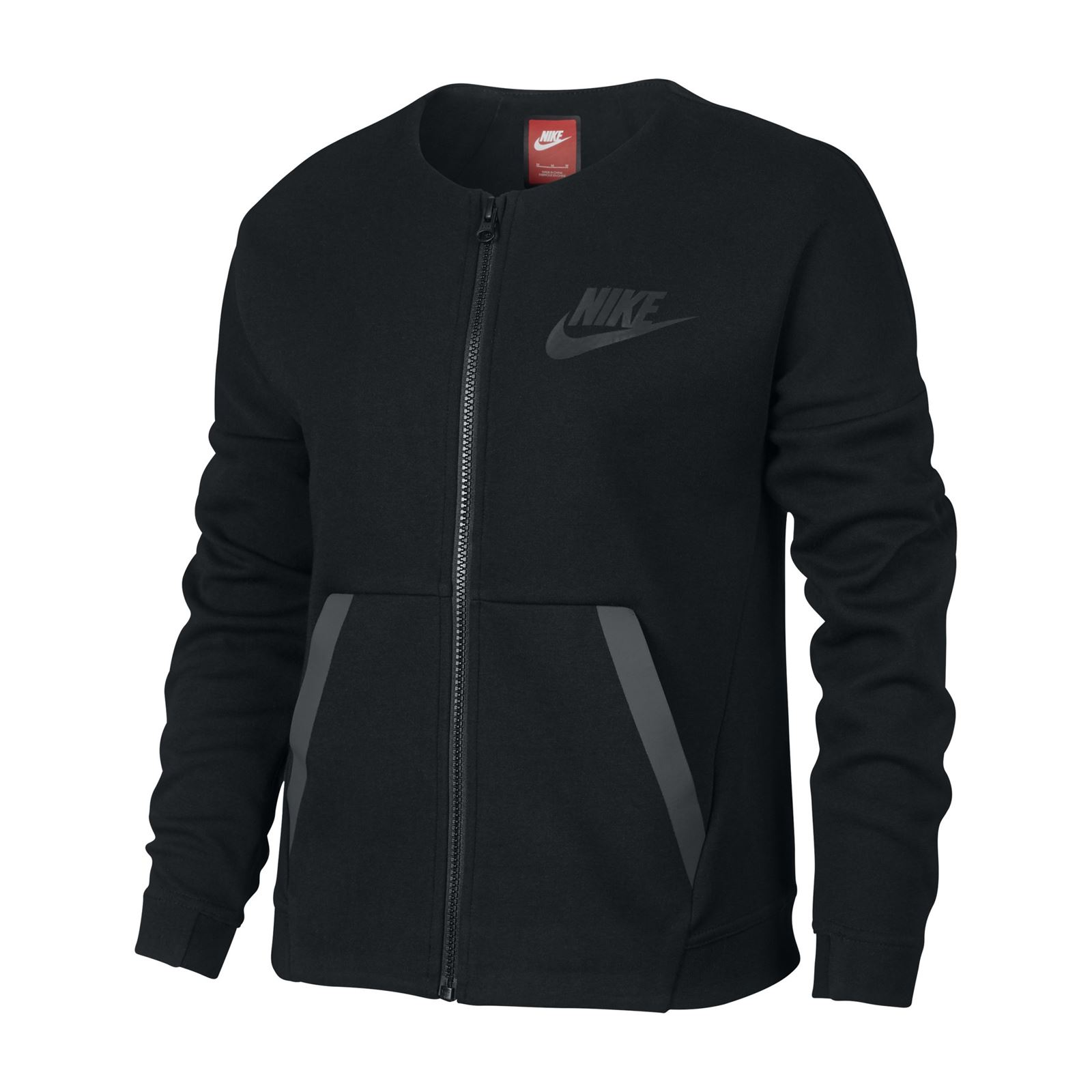 nike veste de sport noir brandalley. Black Bedroom Furniture Sets. Home Design Ideas