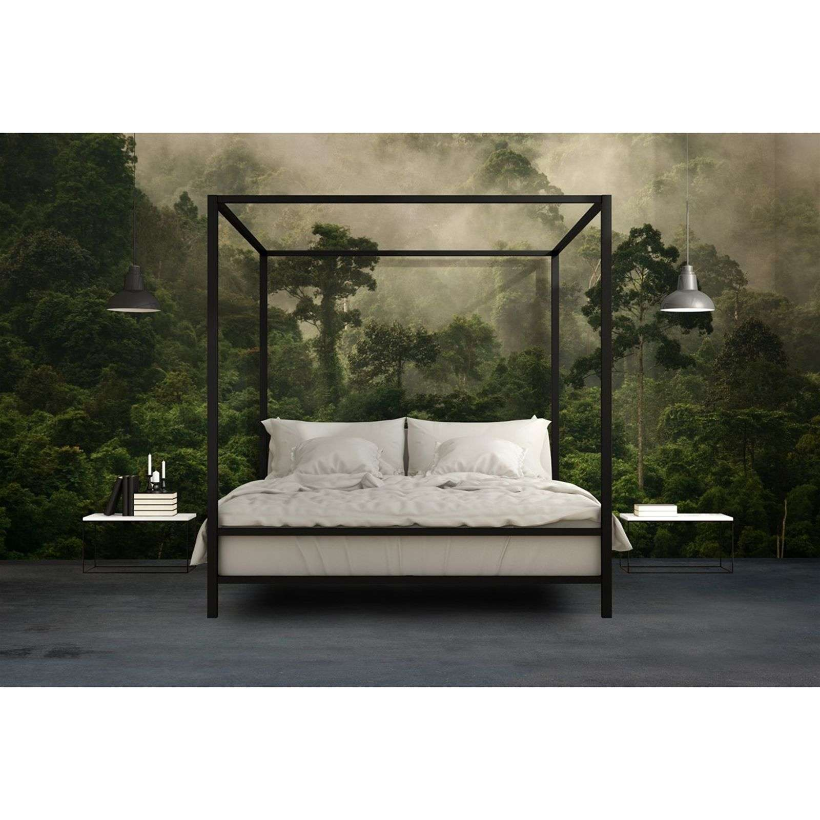 l papiers de ninon fabian l de papier peint vert. Black Bedroom Furniture Sets. Home Design Ideas