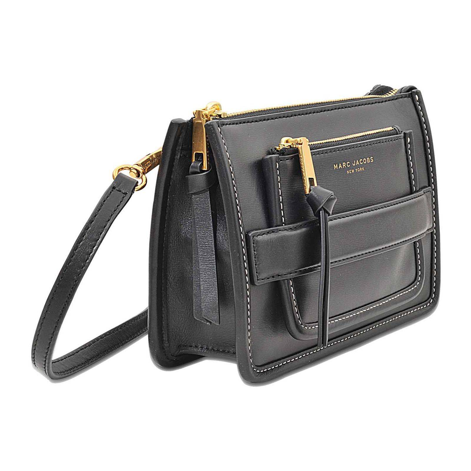 Marc Jacobs Madison - Sac en cuir - noir   BrandAlley 46da1adbd25e