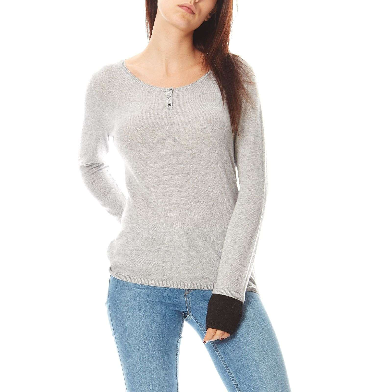 Gris Clair : Royal cashemire pull gris clair brandalley