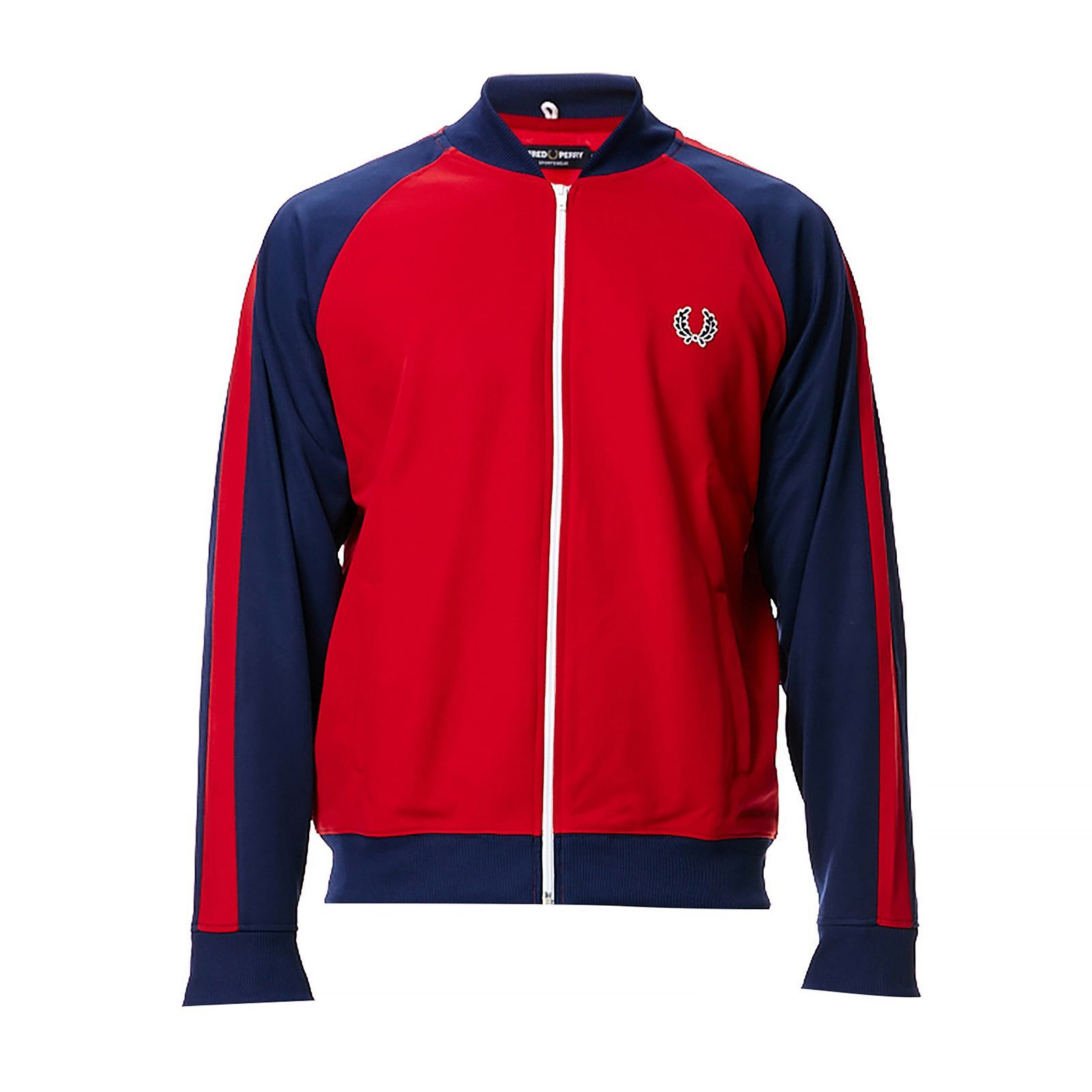 fred perry sweat shirt bicolore brandalley. Black Bedroom Furniture Sets. Home Design Ideas