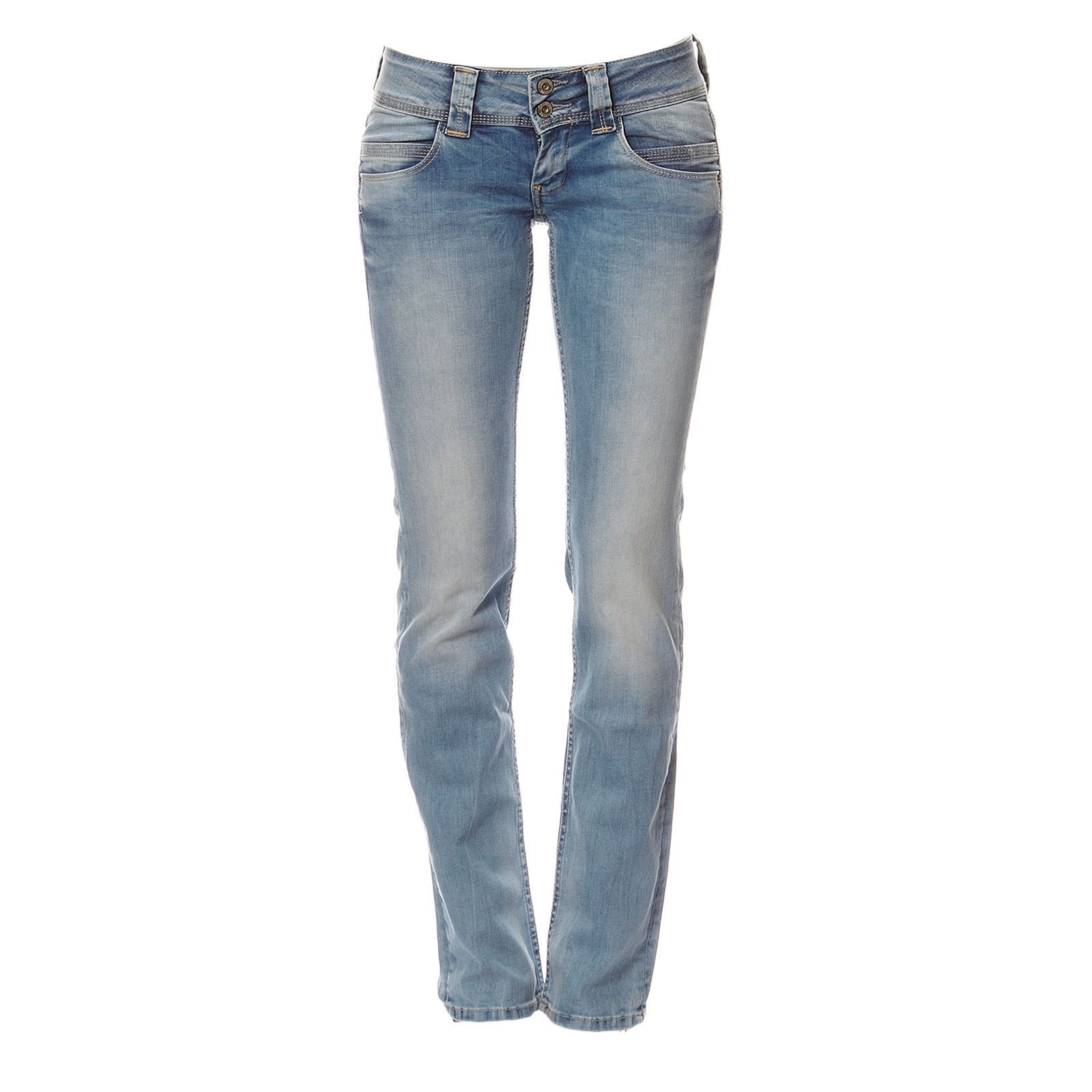 Pepe Jeans London Jean droit - denim bleu
