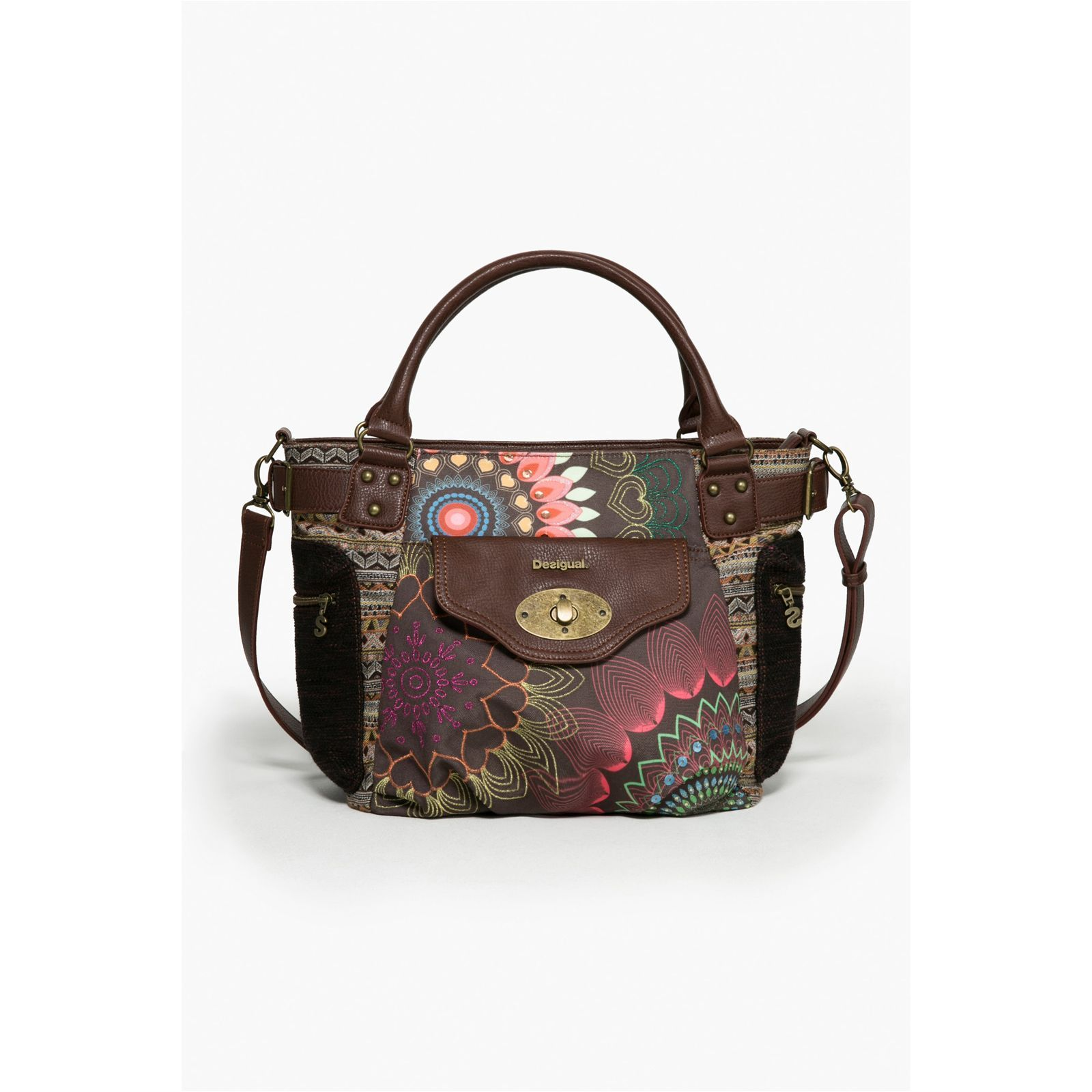 Desigual Mcbee Dakota - Sac cabas - marron