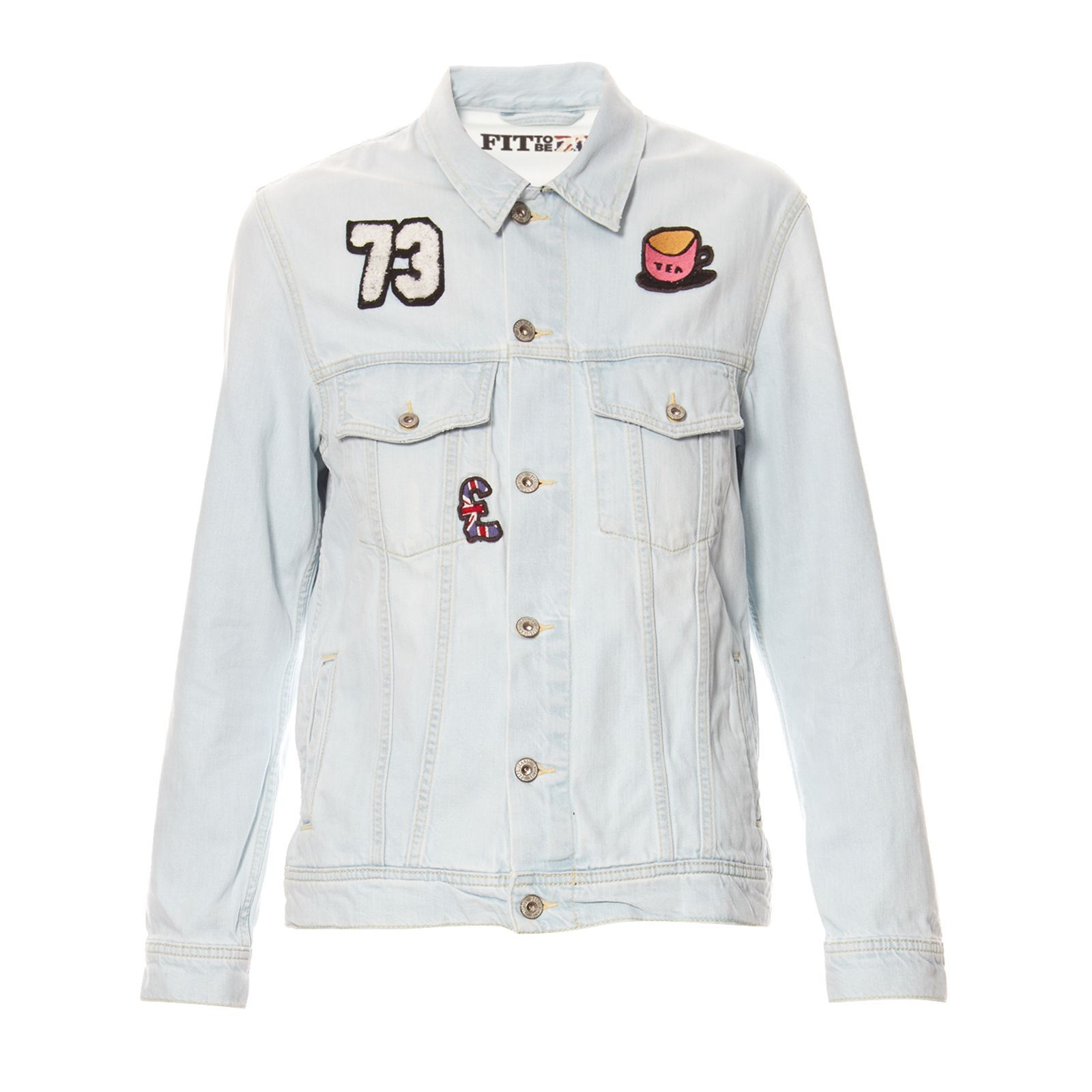 Pepe Jeans London LADETTE - Veste en jean - denim bleu