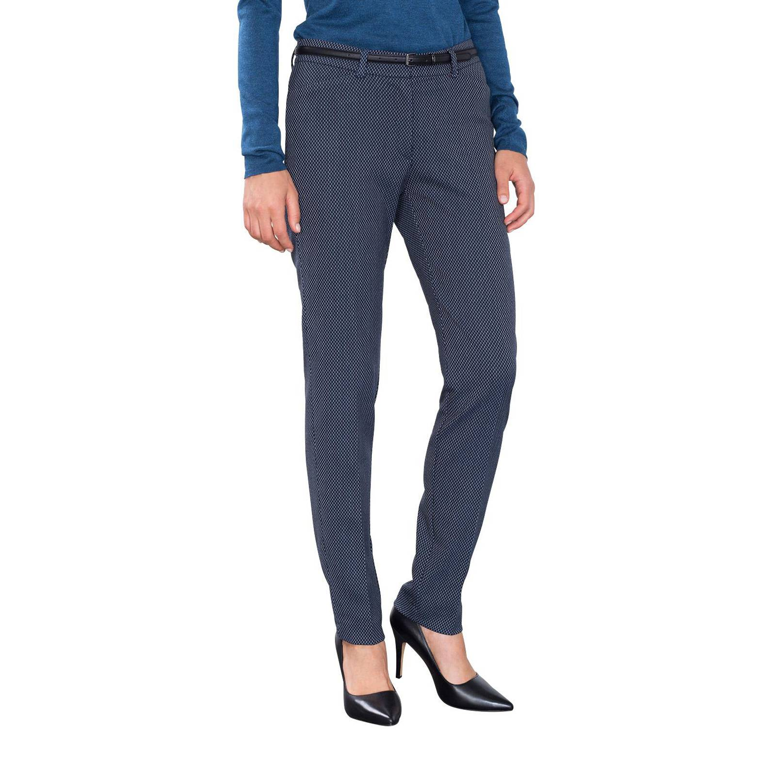 Esprit Collection Pantalon - bleu marine