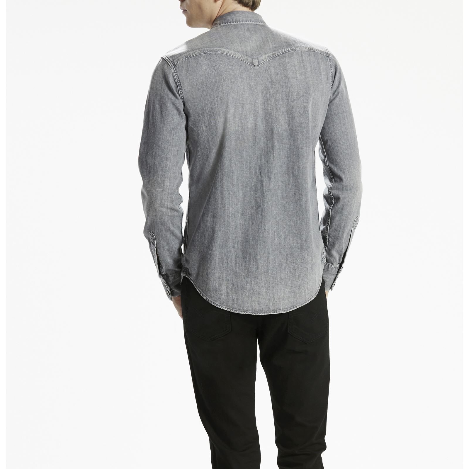 Gris Gris Levi s Western Barstow Barstow Barstow Brandalley Chemise BBzw6q8 33836f93fd74