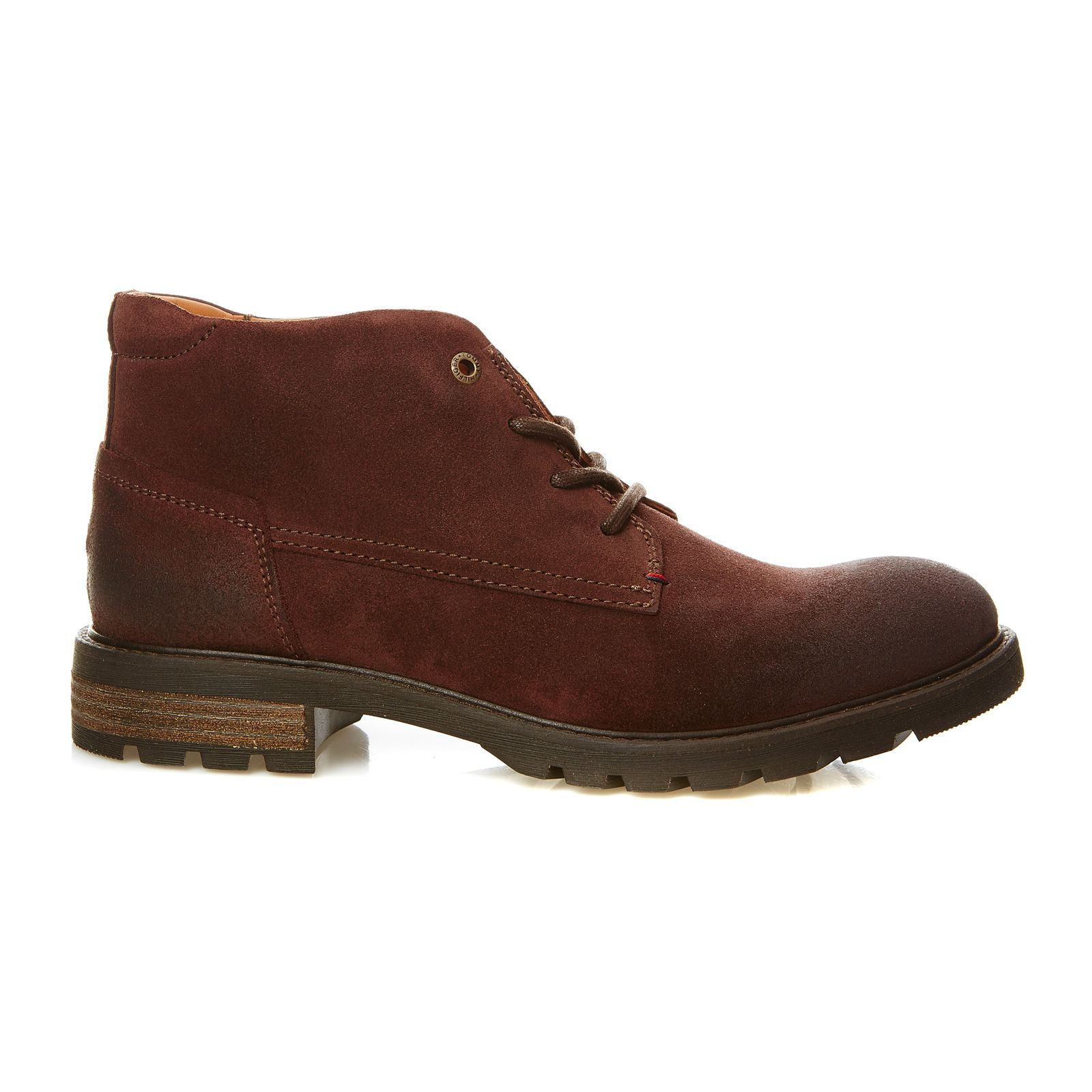 Tommy Hilfiger - Curtis - Bottines en cuir - Marron 6f3292