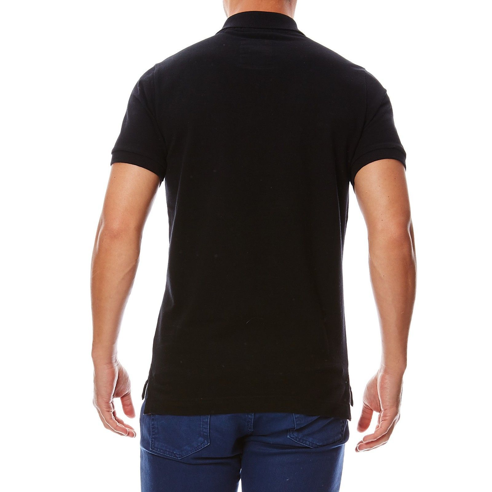 Brandalley Superdry Polo Noir Superdry Brandalley Noir Polo Superdry dqwadO