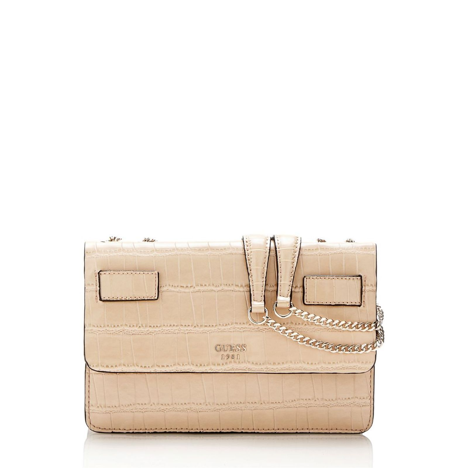 sac guess bandouliere beige