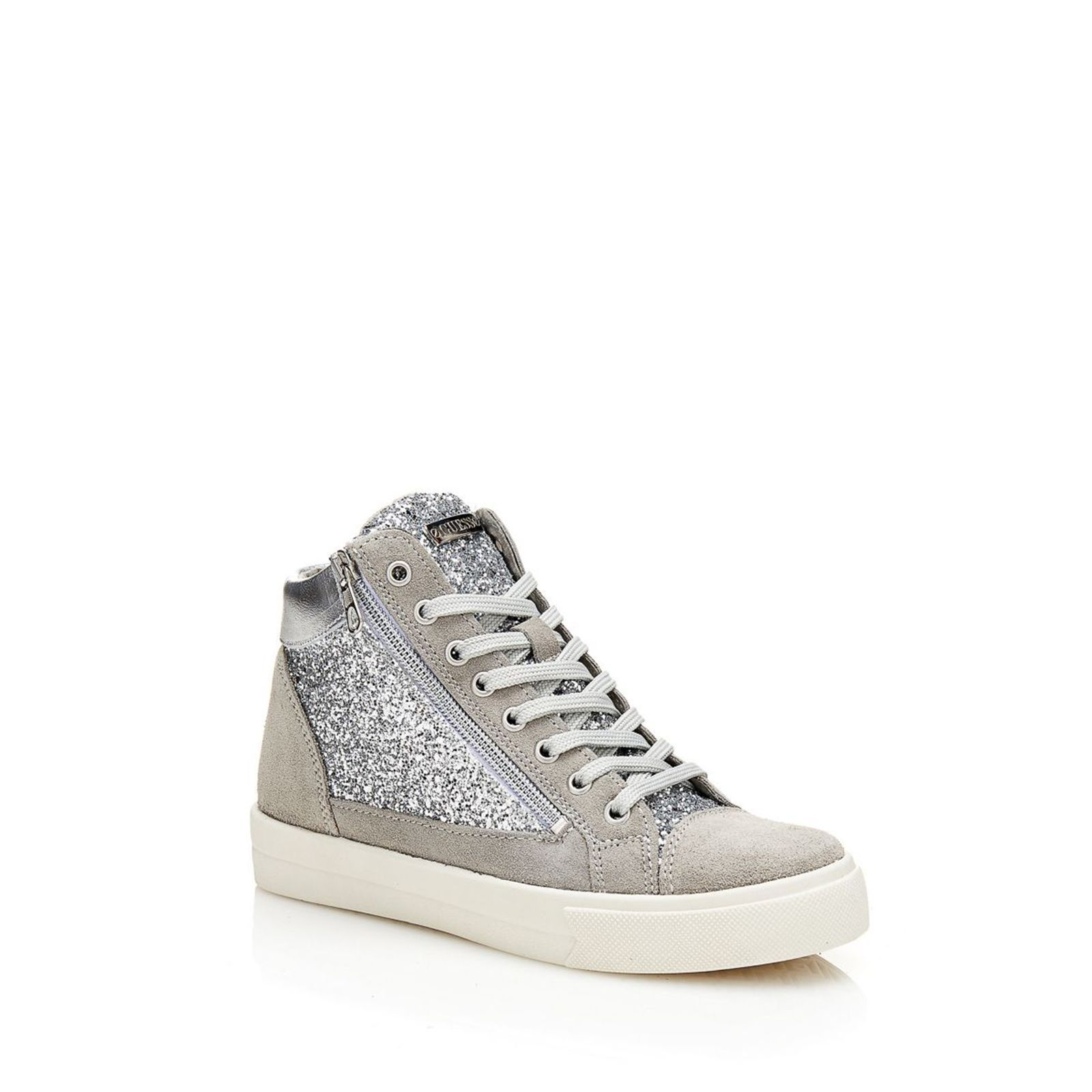 Guess Guya - Sneakers - argent