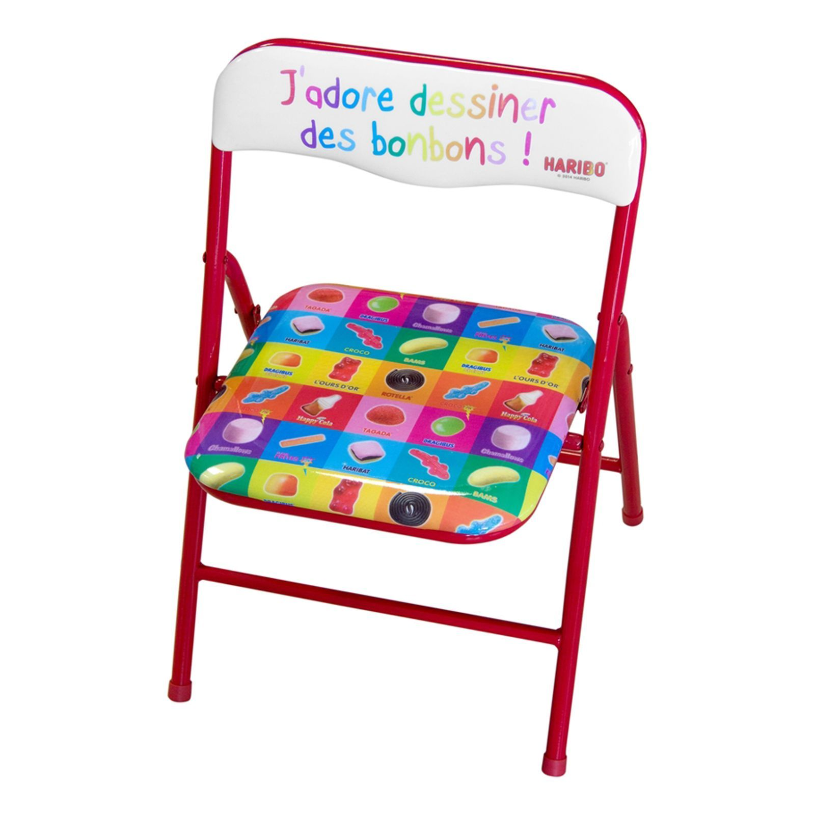 jeux 2 m mes haribo table chaise multicolore brandalley. Black Bedroom Furniture Sets. Home Design Ideas