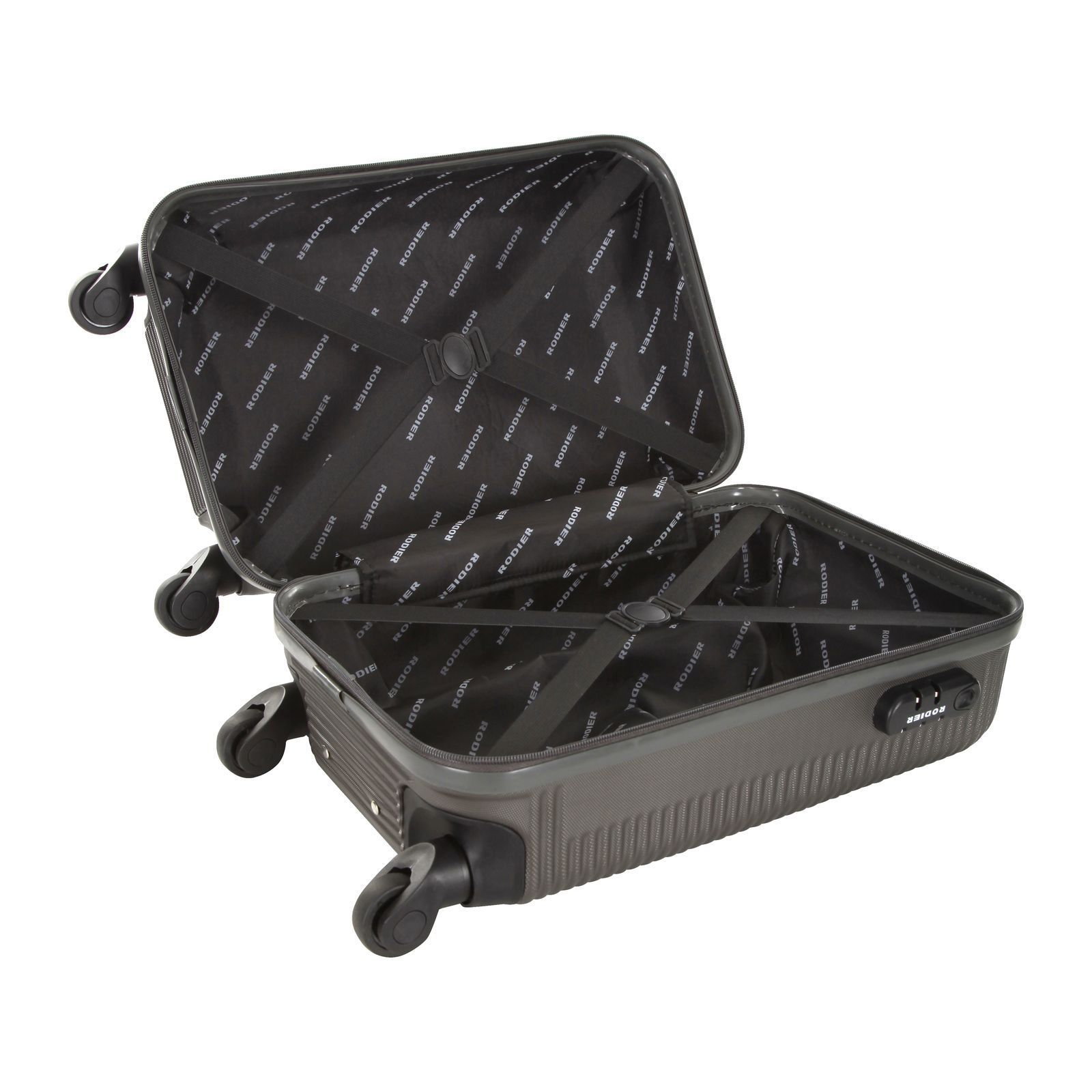 Rodier izalco valise cabine gris brandalley for Rodier interieur