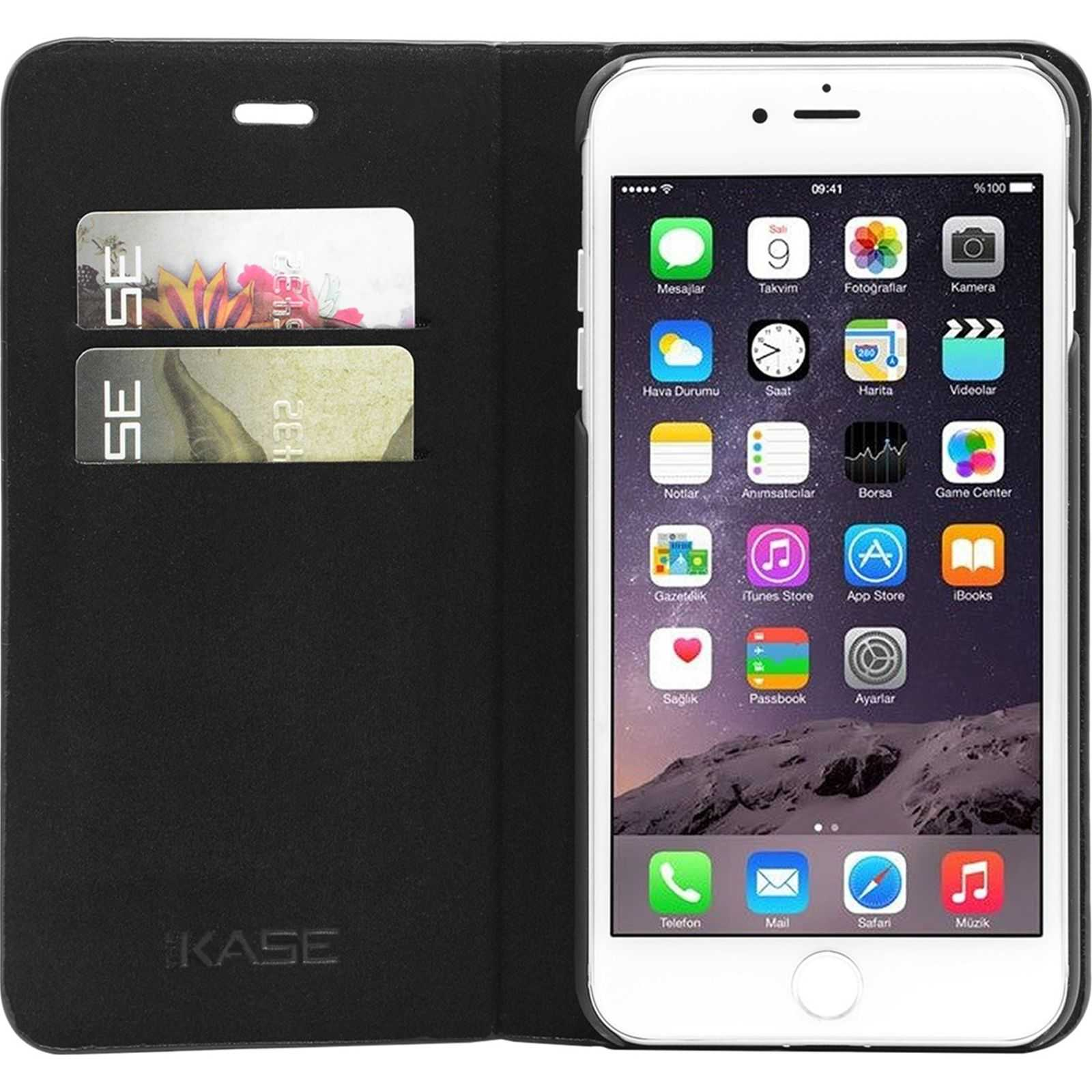 The kase housse pour iphone 7 noir brandalley for Housse pour iphone 7