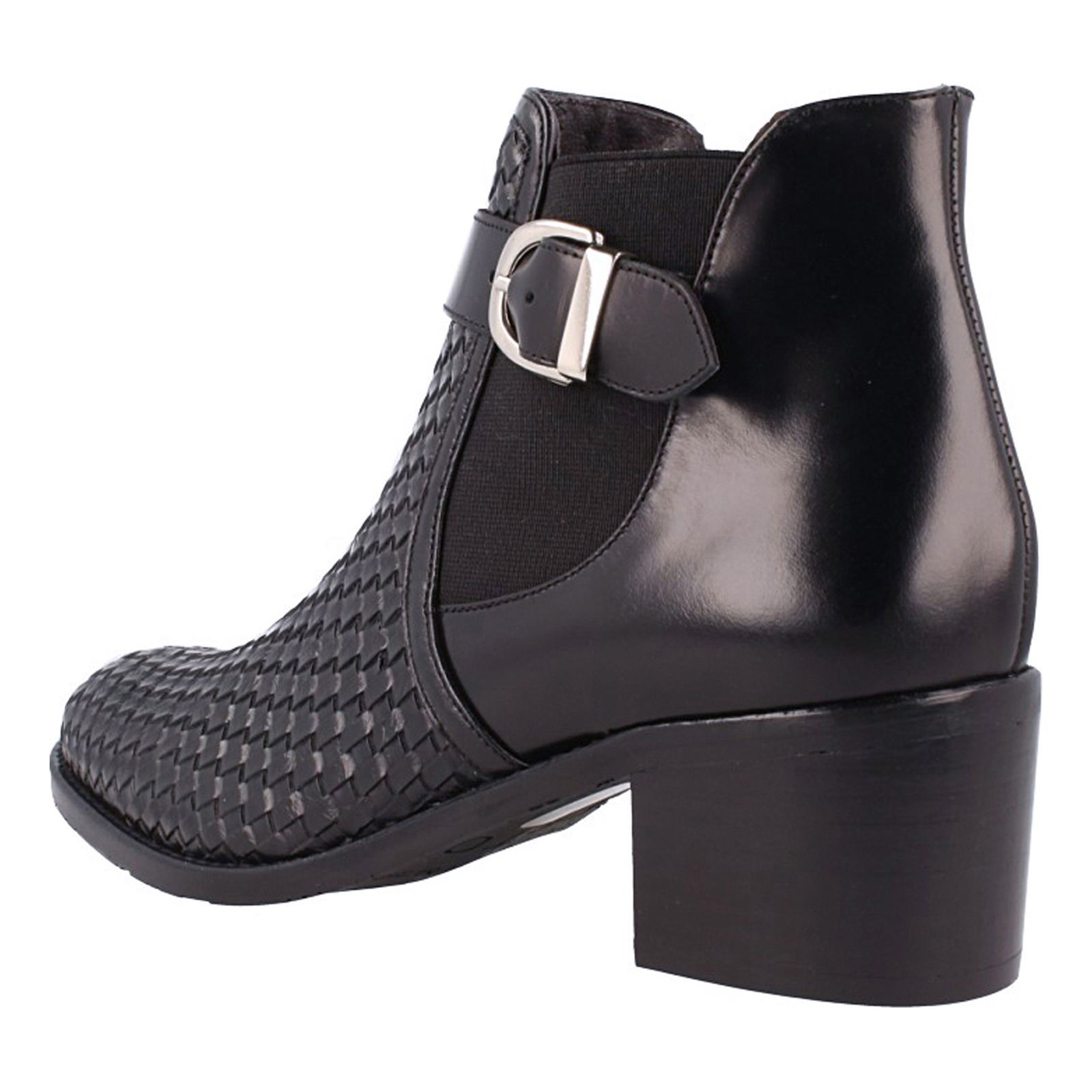 Roberto Botella Bottines en cuir - noir