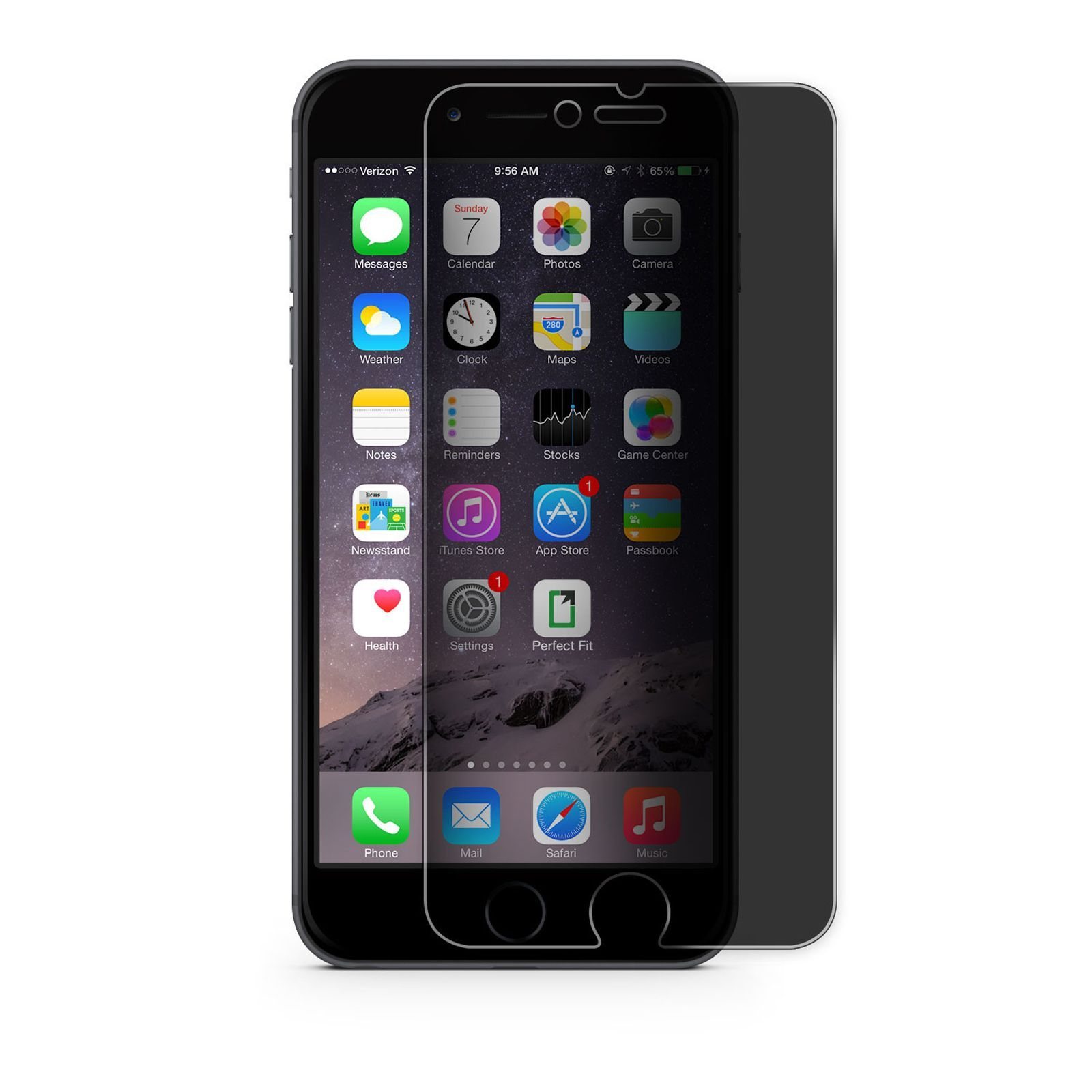 accessoires iphone screenprotector voor iphone 6 plus 6s. Black Bedroom Furniture Sets. Home Design Ideas
