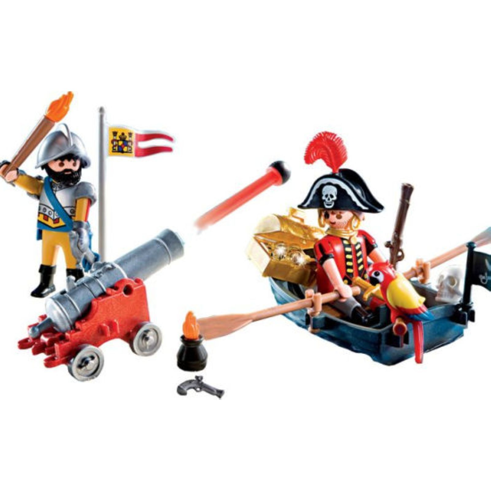 Playmobil valisette pirate et soldat brandalley - Playmobil soldat ...
