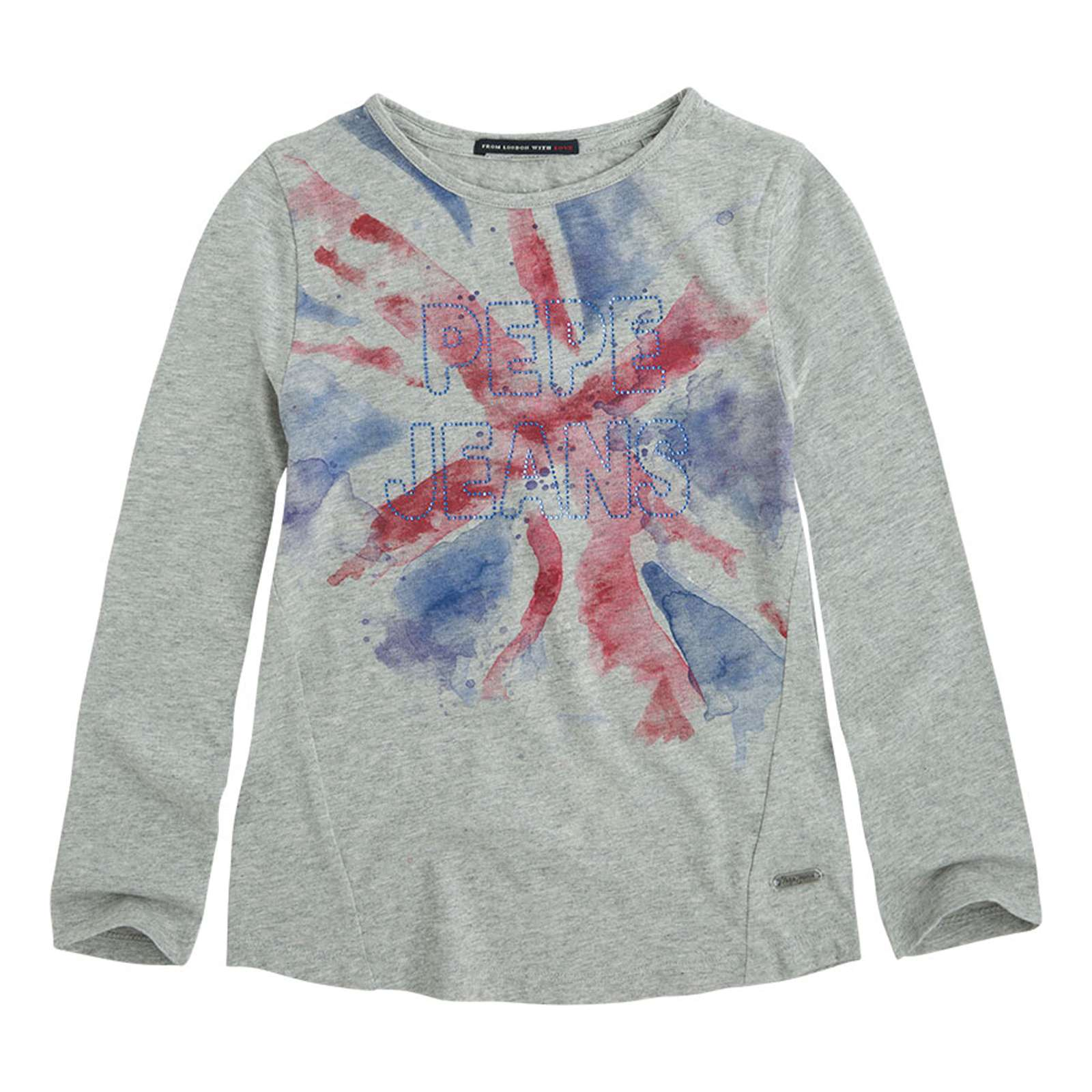 Pepe Jeans London Janis - T-shirt - gris chine