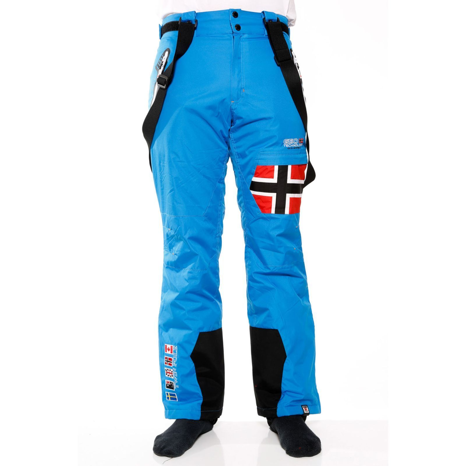 geographical norway walkman pantalon de ski bleu. Black Bedroom Furniture Sets. Home Design Ideas