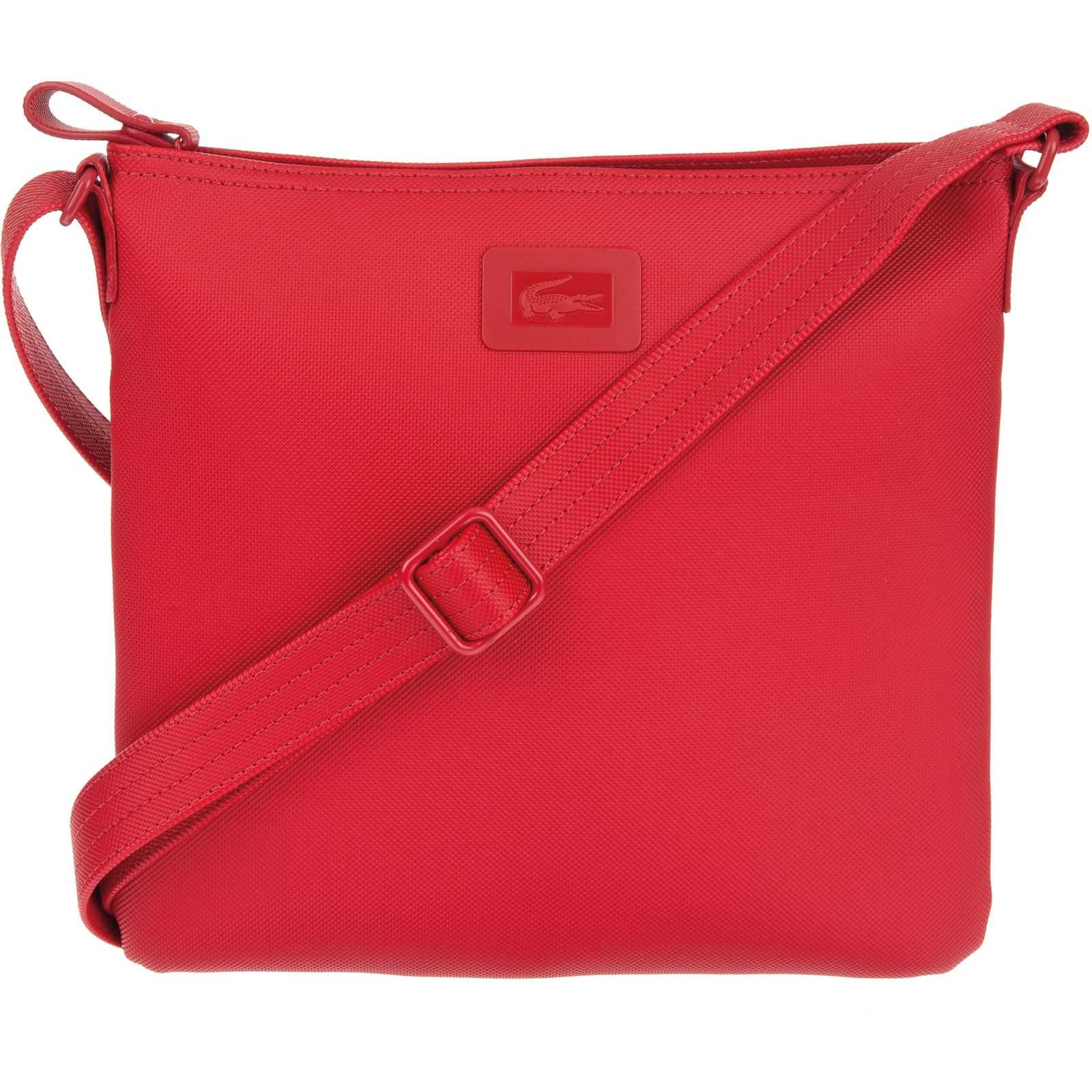 Classic Rouge Brandalley Lacoste Bandoulière Sac Women's 1nCqI5