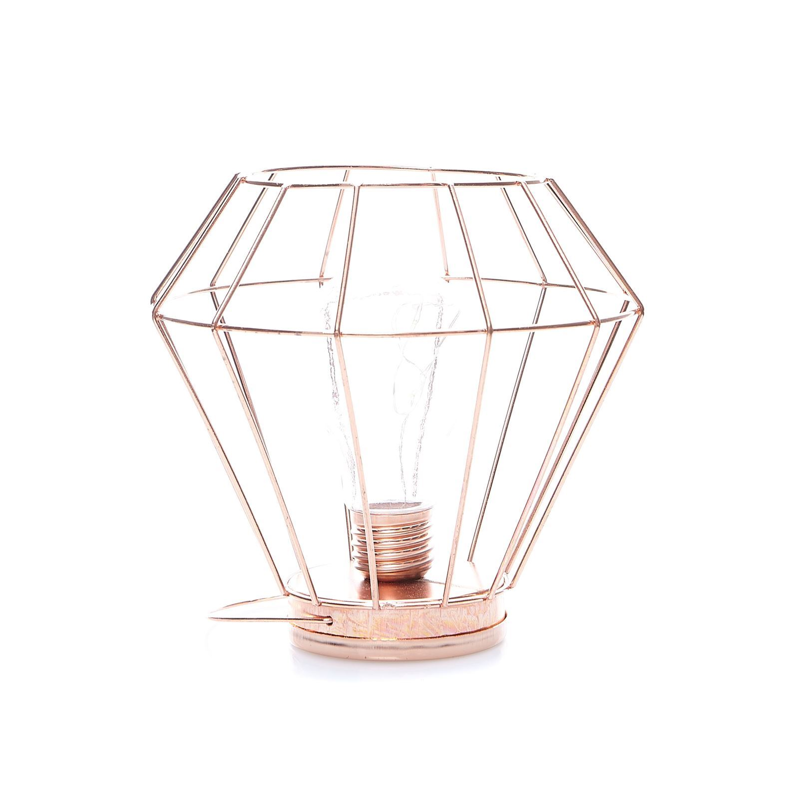 Home and styling lampe poser cuivr brandalley - Lampe a poser cuivre ...