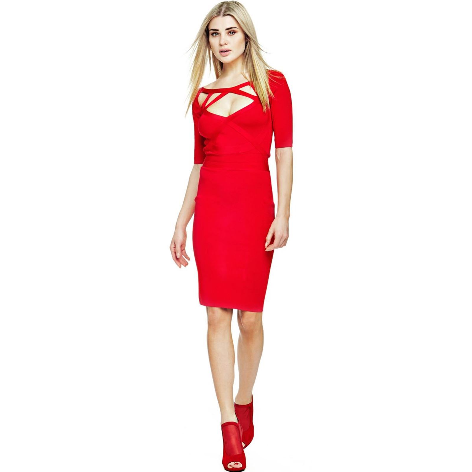 Robe rouge guess marciano
