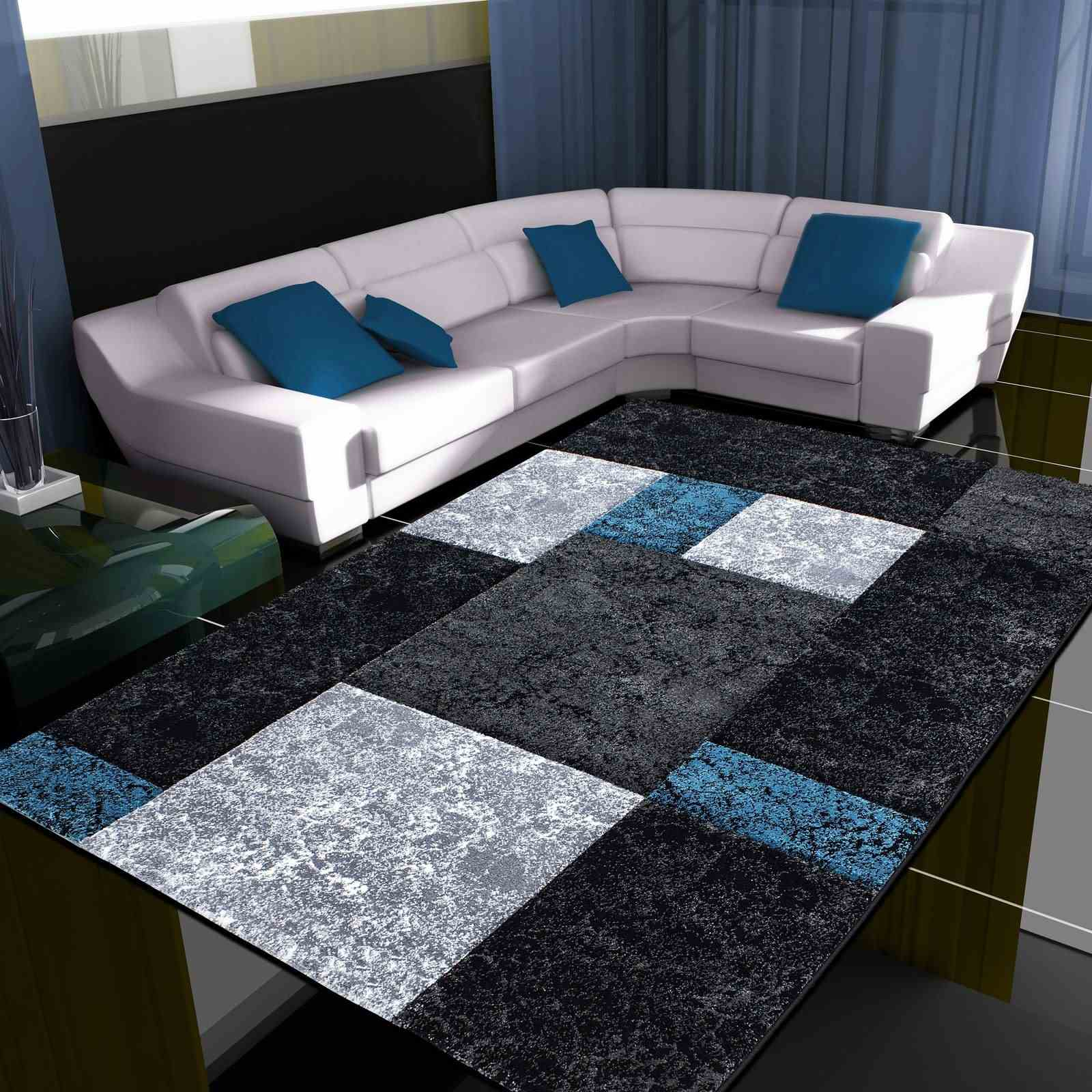 nazar tapis bleu brandalley. Black Bedroom Furniture Sets. Home Design Ideas