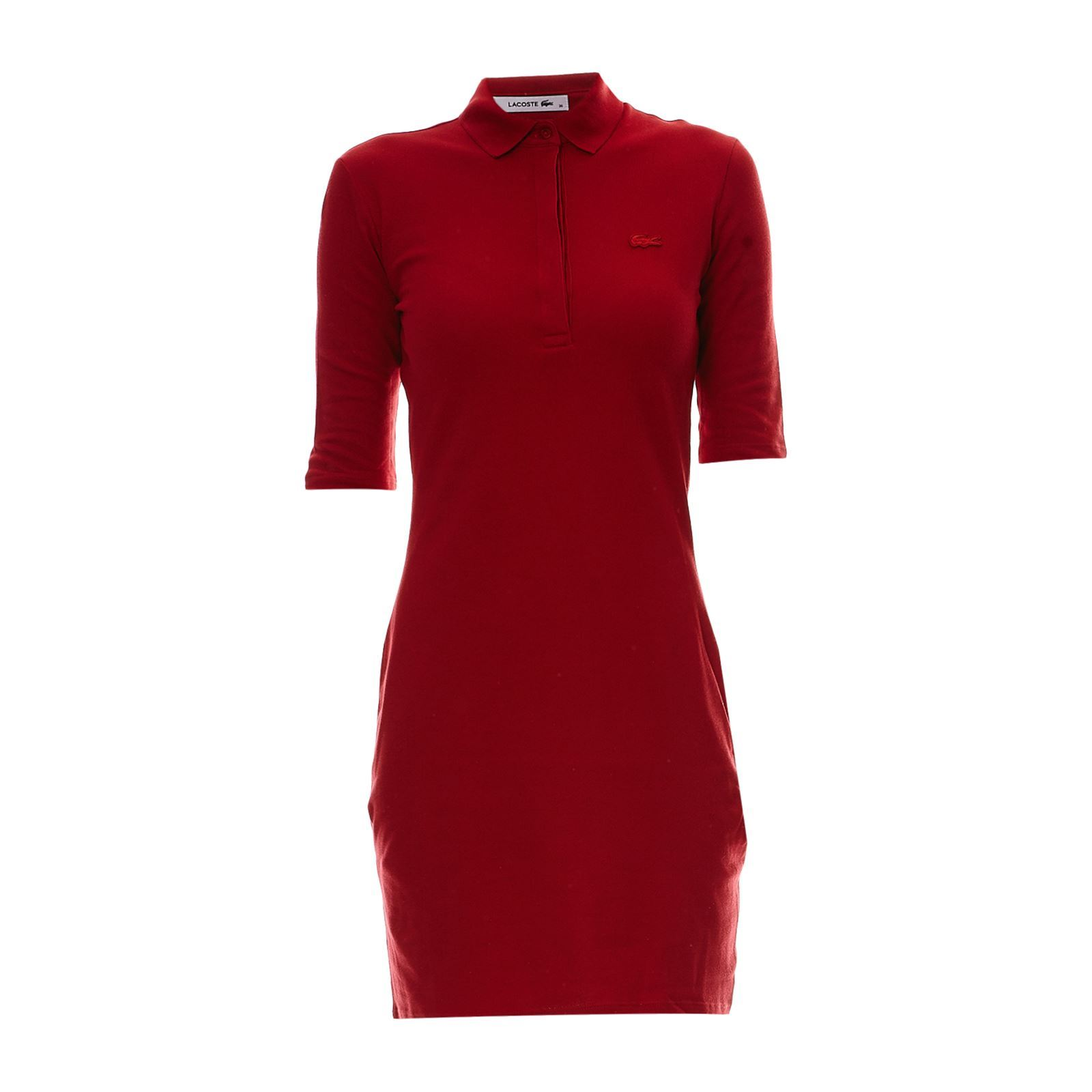 lacoste robe rouge brandalley With robe lacoste rouge
