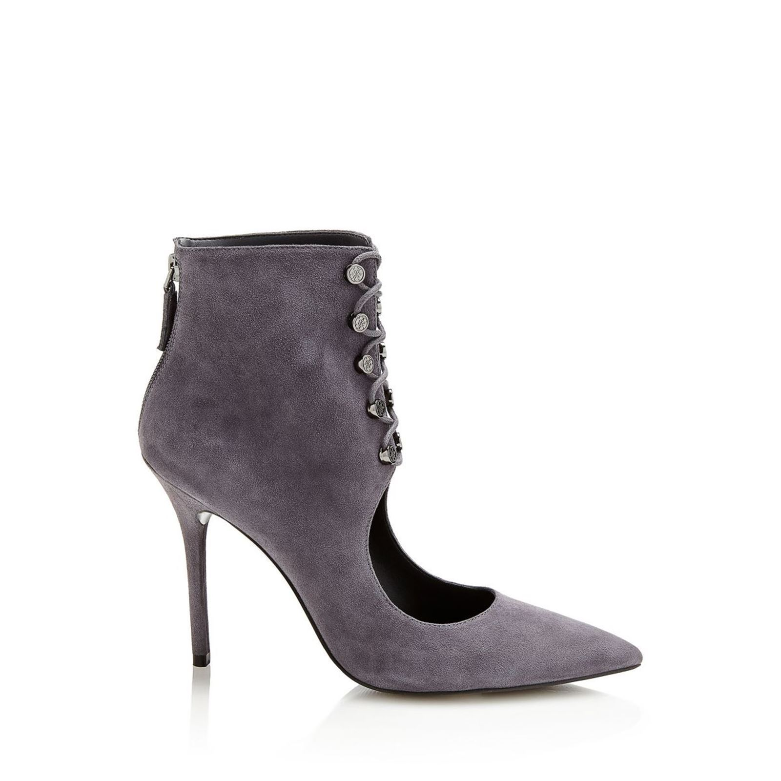 Guess Pivia - Bottines en cuir - gris