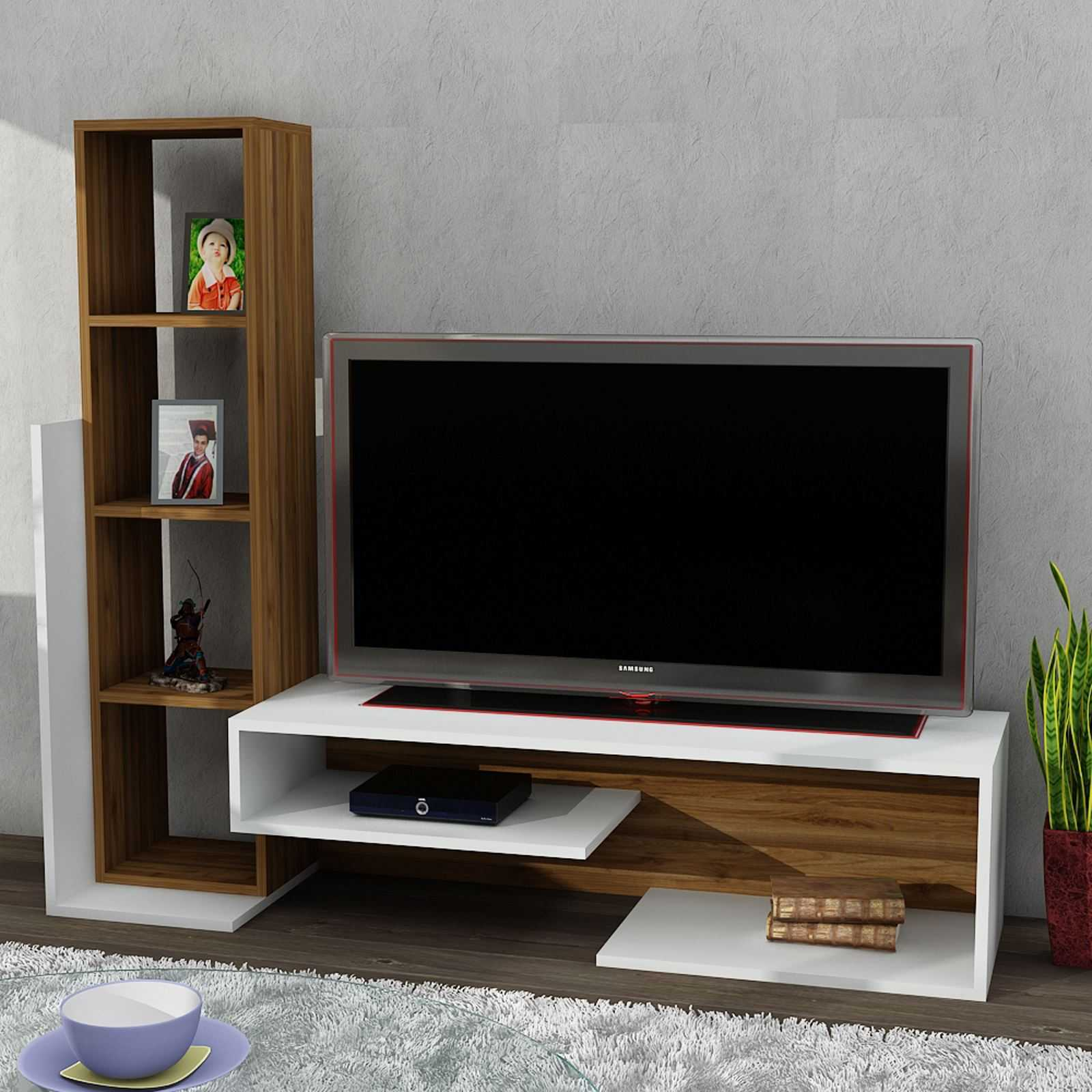 wooden art meuble tv naturel brandalley