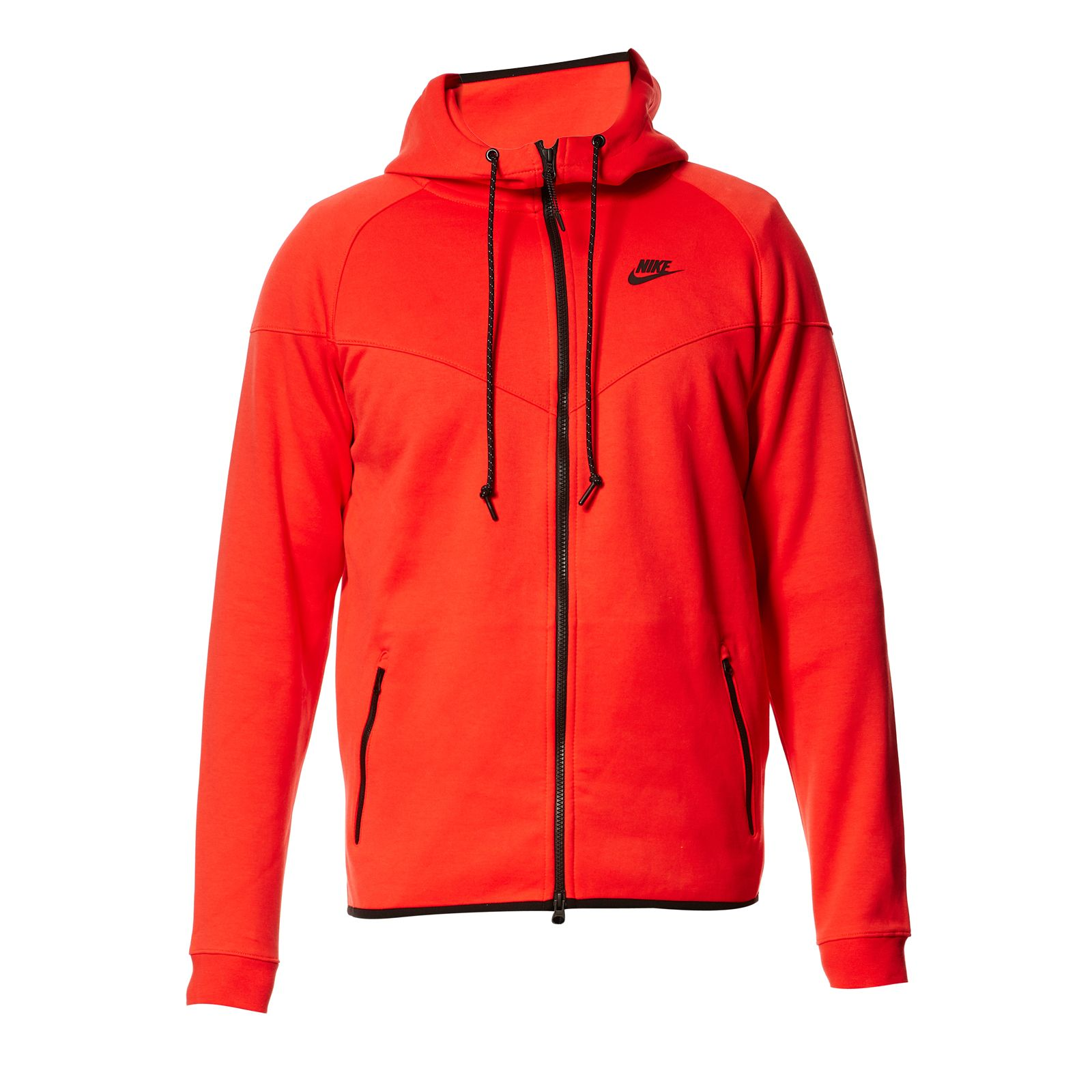 nike nike tech fleece windrunner sweat zipp capuche rouge brandalley. Black Bedroom Furniture Sets. Home Design Ideas