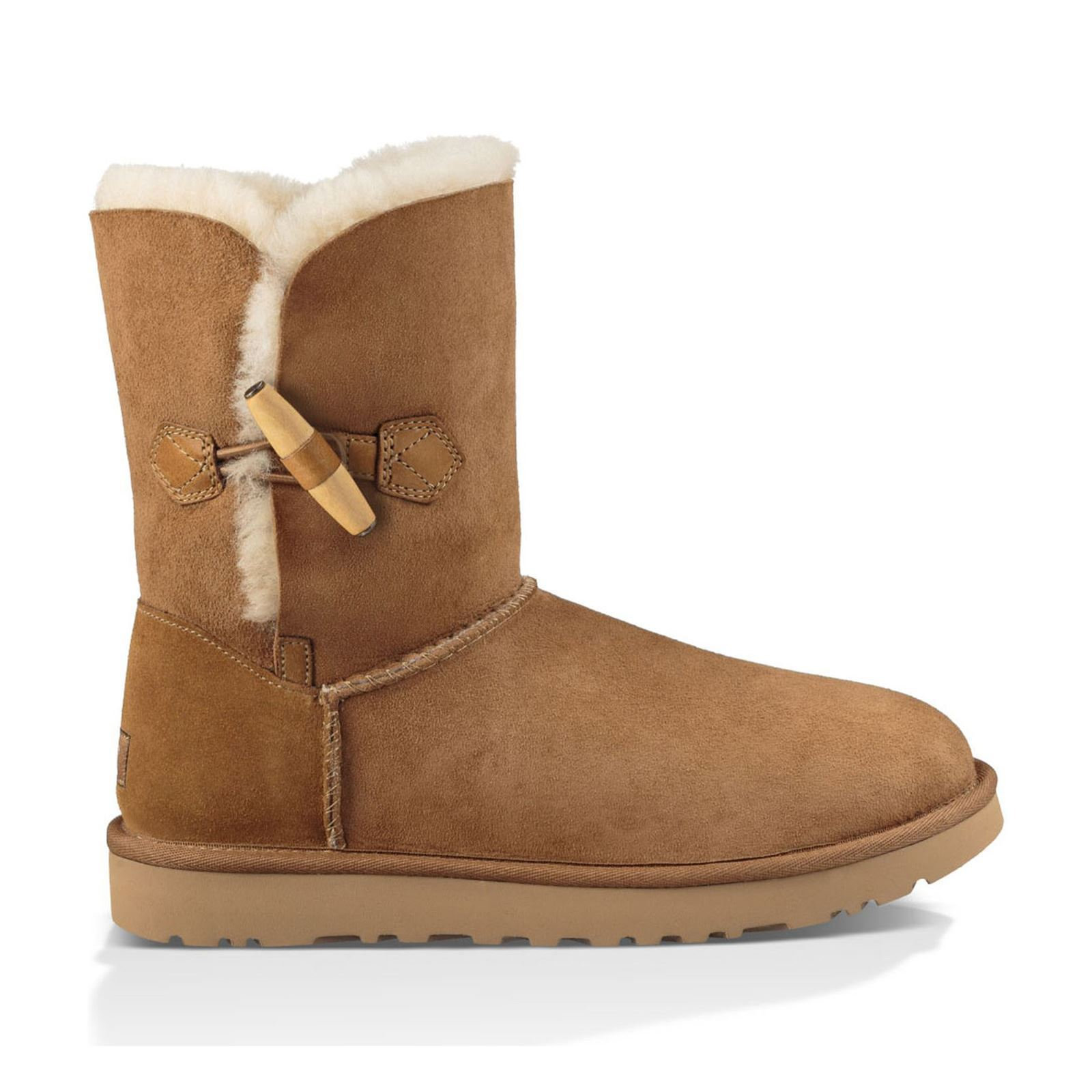 ugg keely boots fourr es en cuir su d camel brandalley. Black Bedroom Furniture Sets. Home Design Ideas