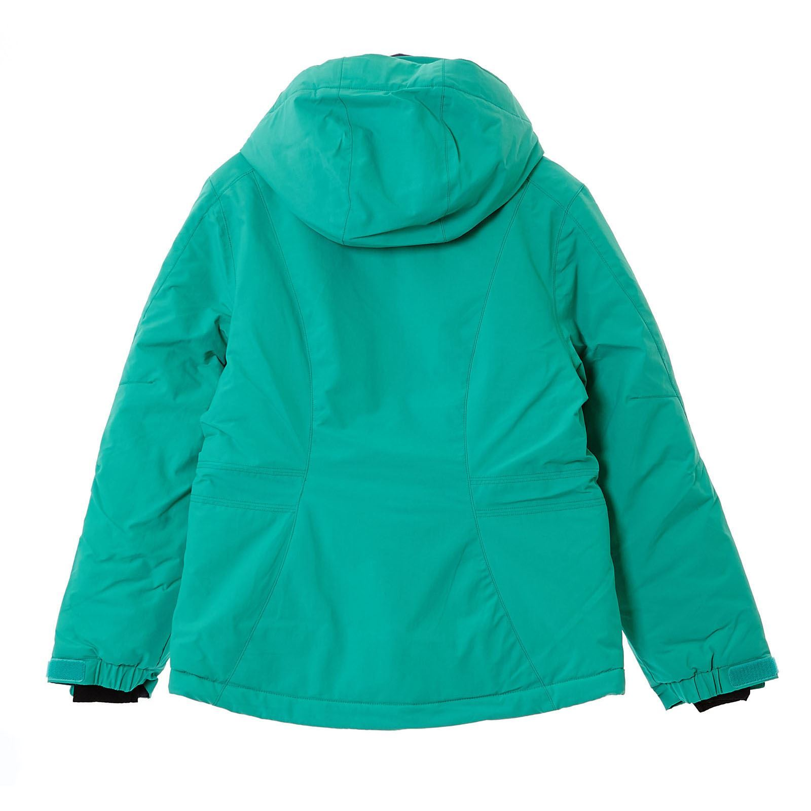Salomon snowink cappotto con interno in pile verde for Interno verde