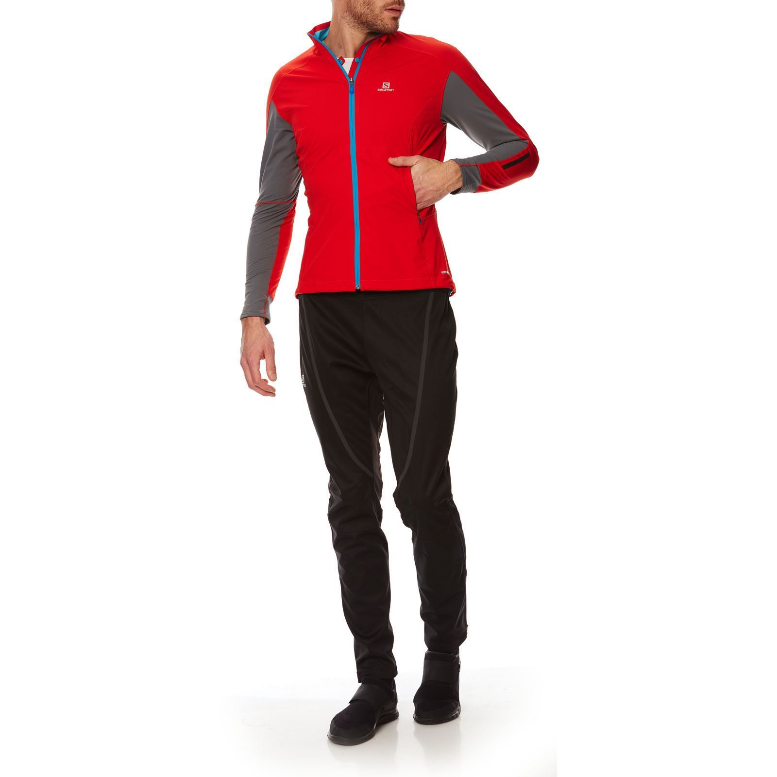 Brandalley Salomon Veste Vent Coupe Rouge IIwqz