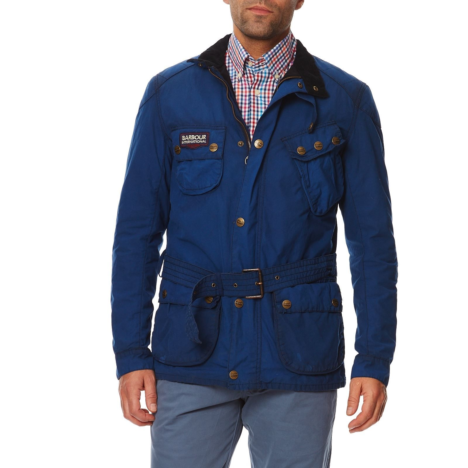 International Bleu Chaude Lifestyle Veste Triumph Barbour 5qnOSF7xw