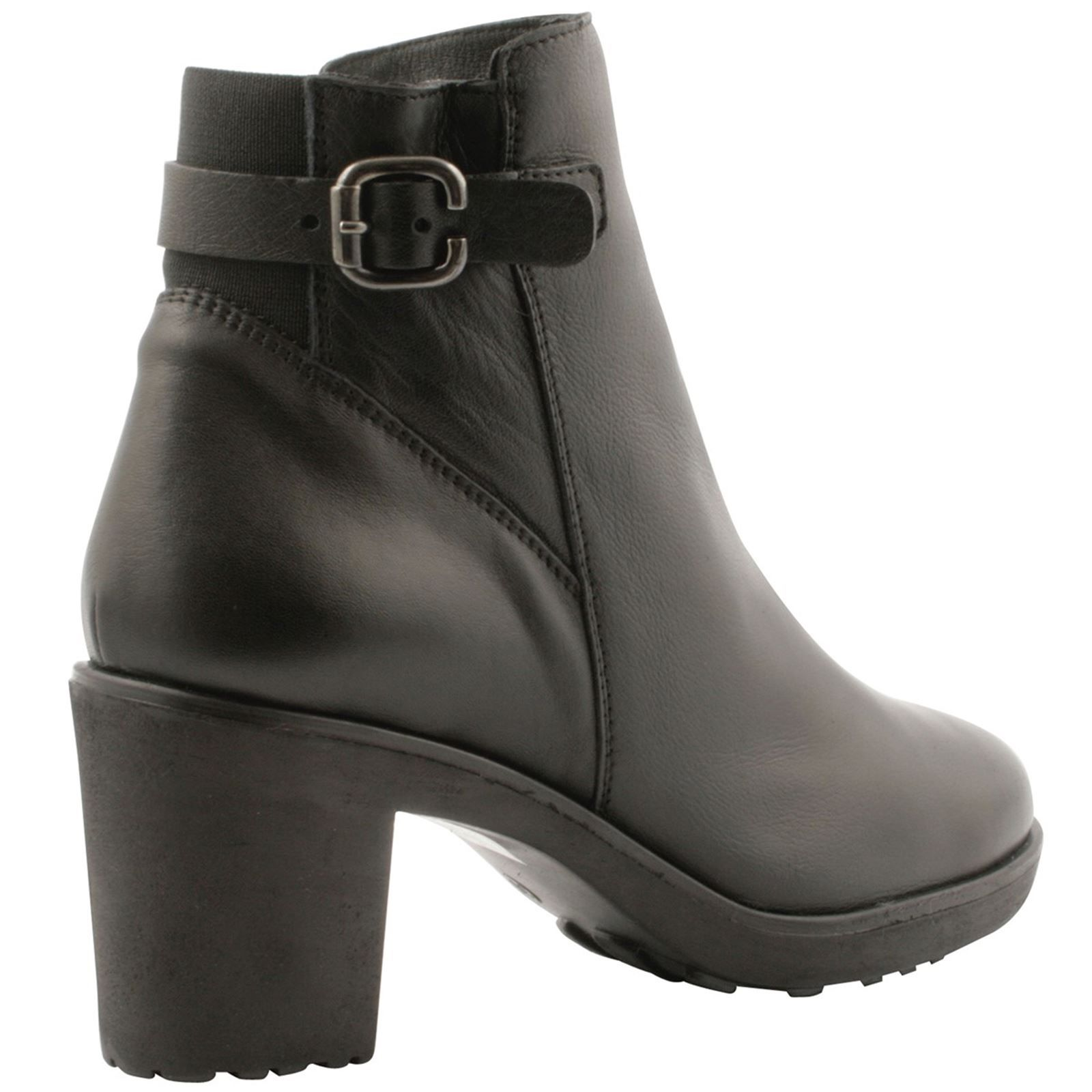 Exclusif Paris Sibyl - Bottines en cuir - noir
