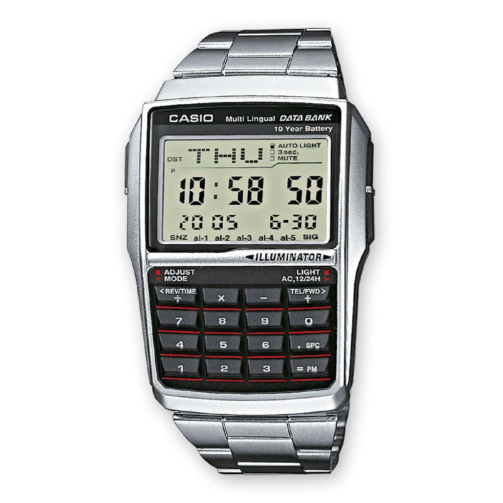 casio casio collection retro montre digitale gris brandalley. Black Bedroom Furniture Sets. Home Design Ideas