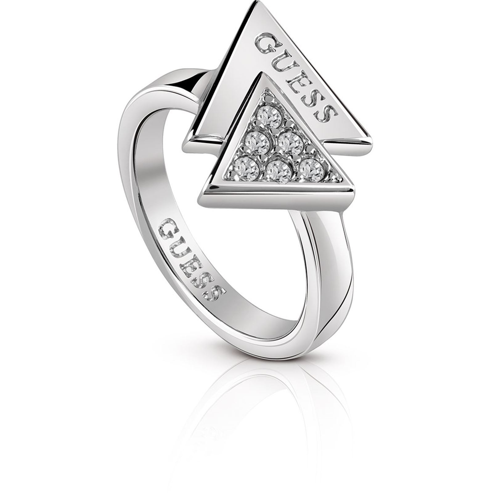 Guess Bague triangle - argent