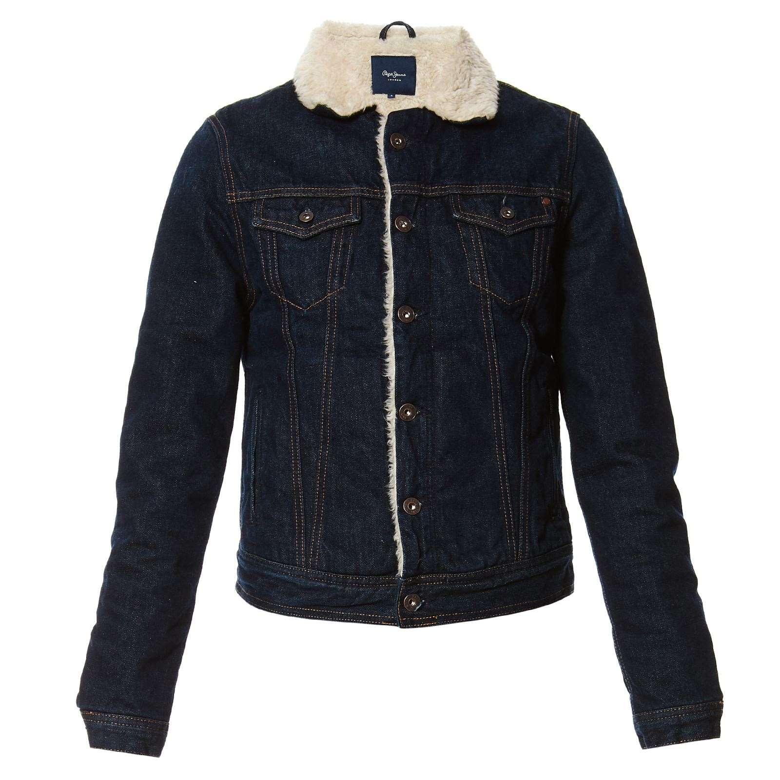 Pepe Jeans London Core JKT Dlx - Veste en jean - denim bleu