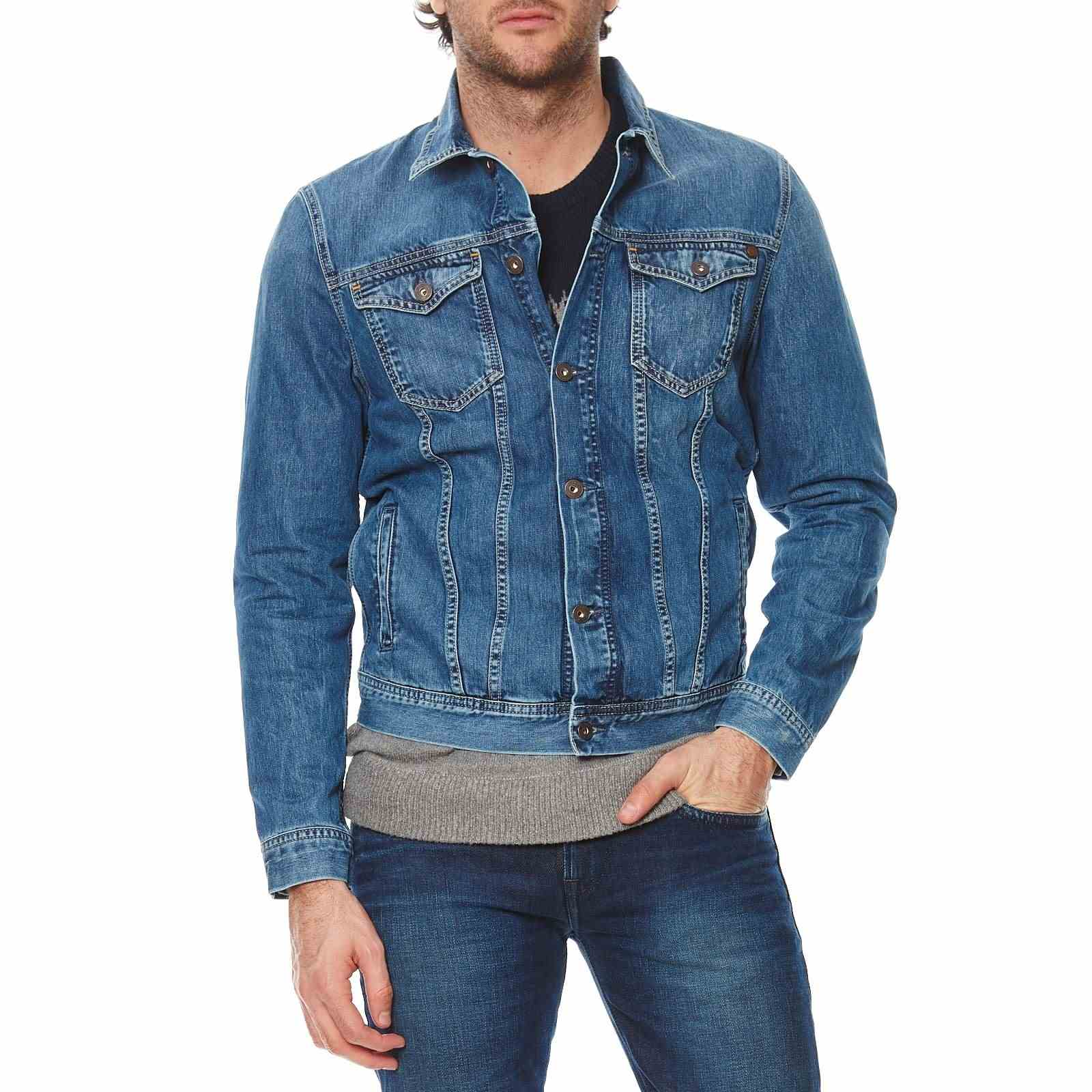 Pepe Jeans London Legend - Veste en jean - denim bleu