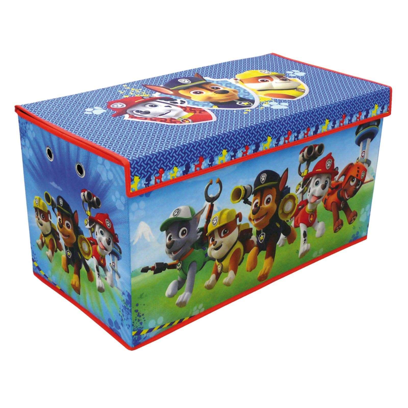paw patrol caja para juguetes multicolor brandalley. Black Bedroom Furniture Sets. Home Design Ideas