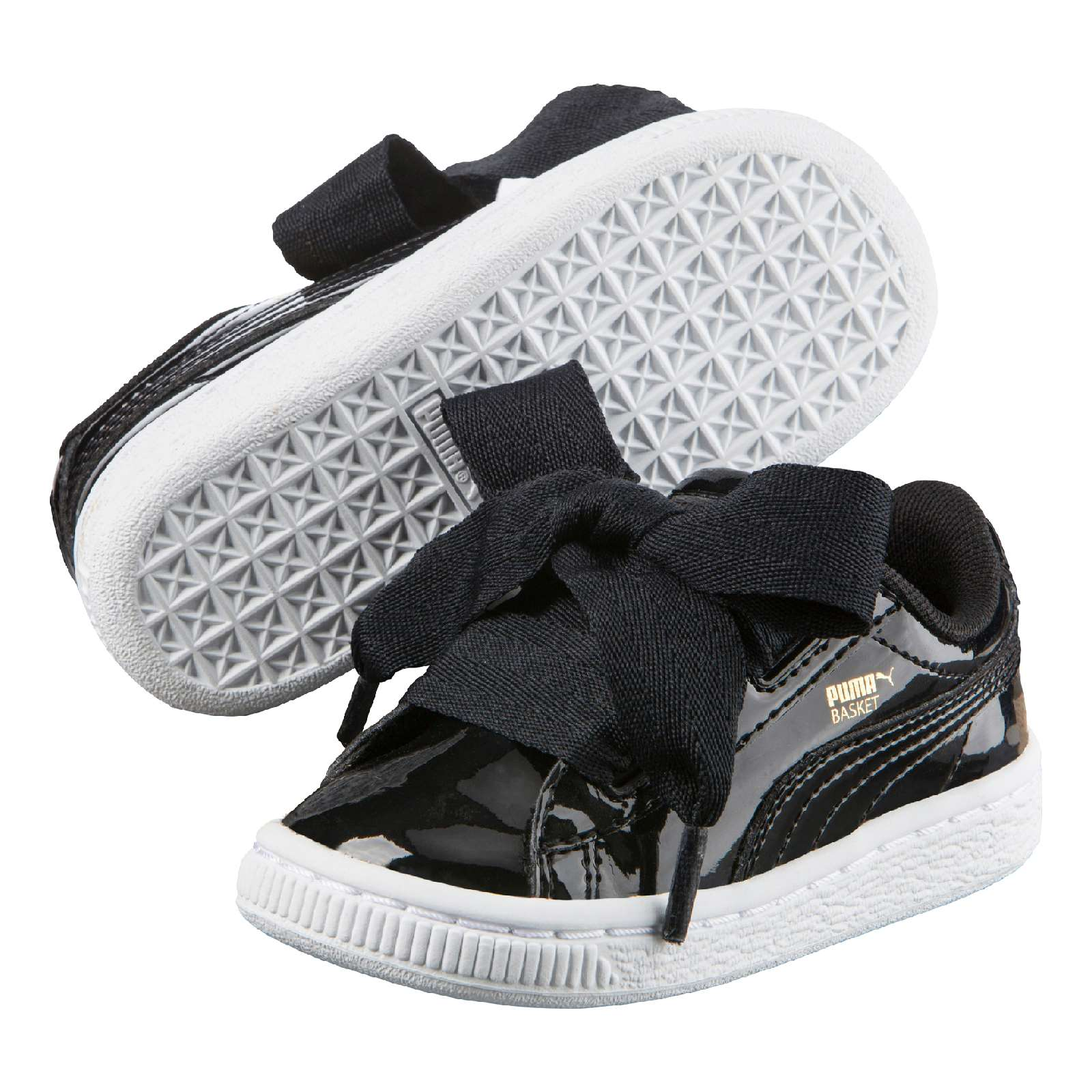 puma heart noir vernis foot locker
