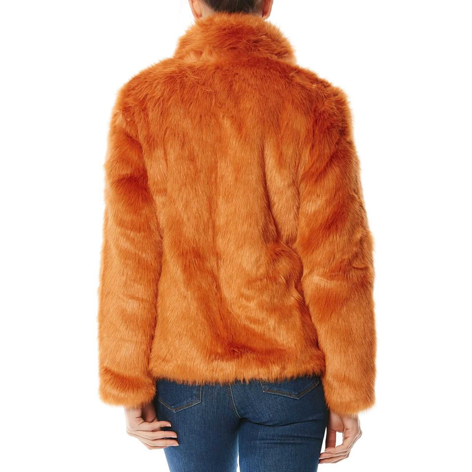 Fourrure Manteau Moda Vero Brandalley Synthétique Orange En f7wTxfA0qa 7e1128e96a83