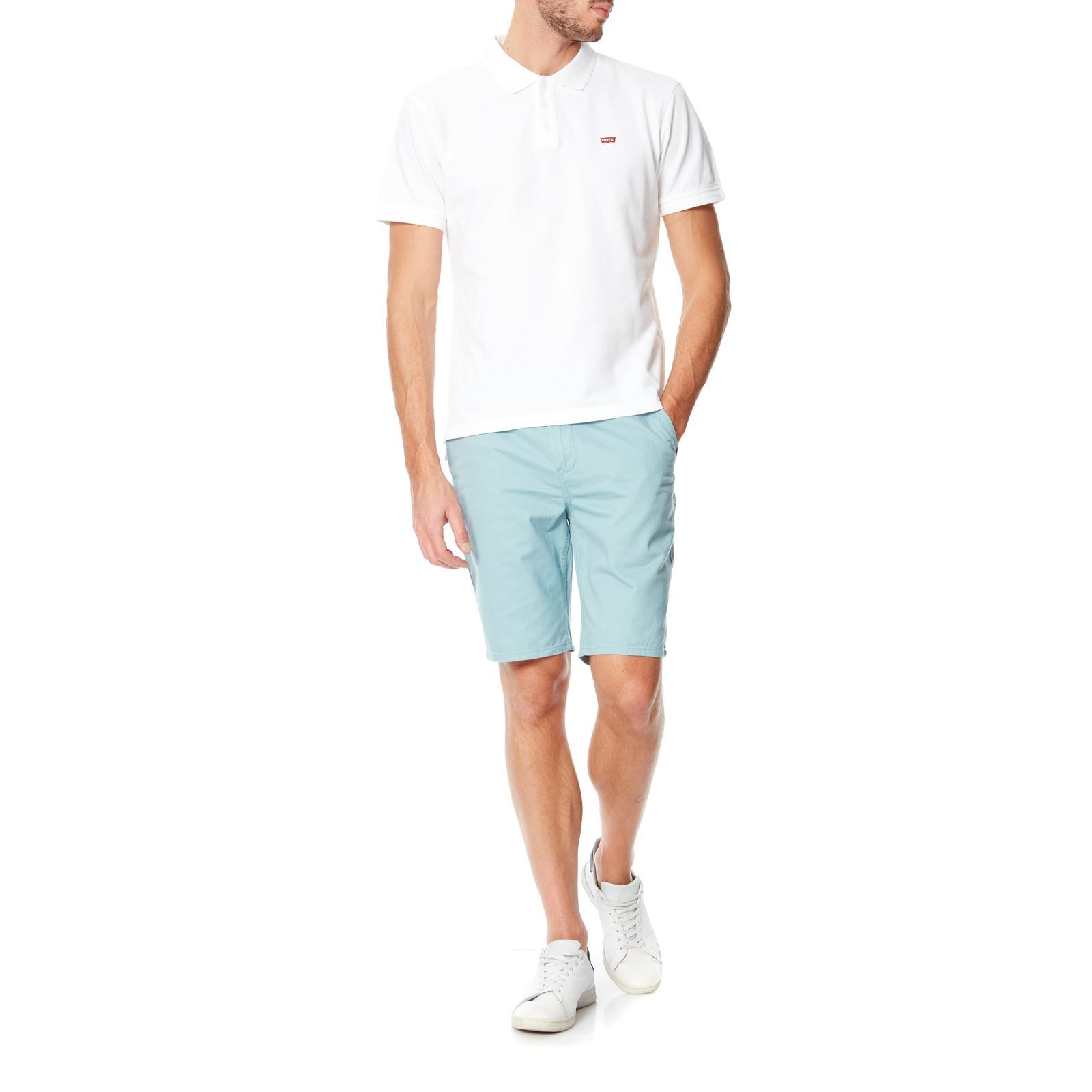 Polos Levi's blancs Casual homme