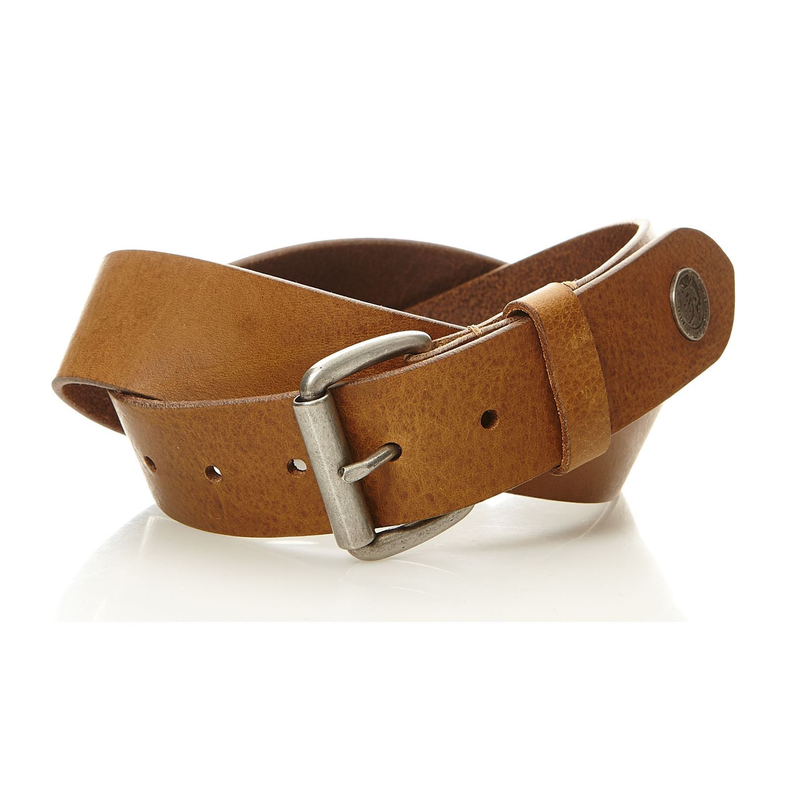 Diesel B-Shoot - Ceinture en cuir - marron